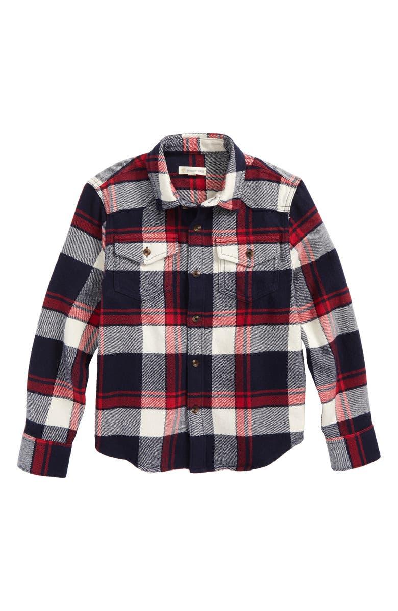 15cf61189 Tucker + Tate Plaid Flannel Shirt (Toddler Boys & Little Boys ...