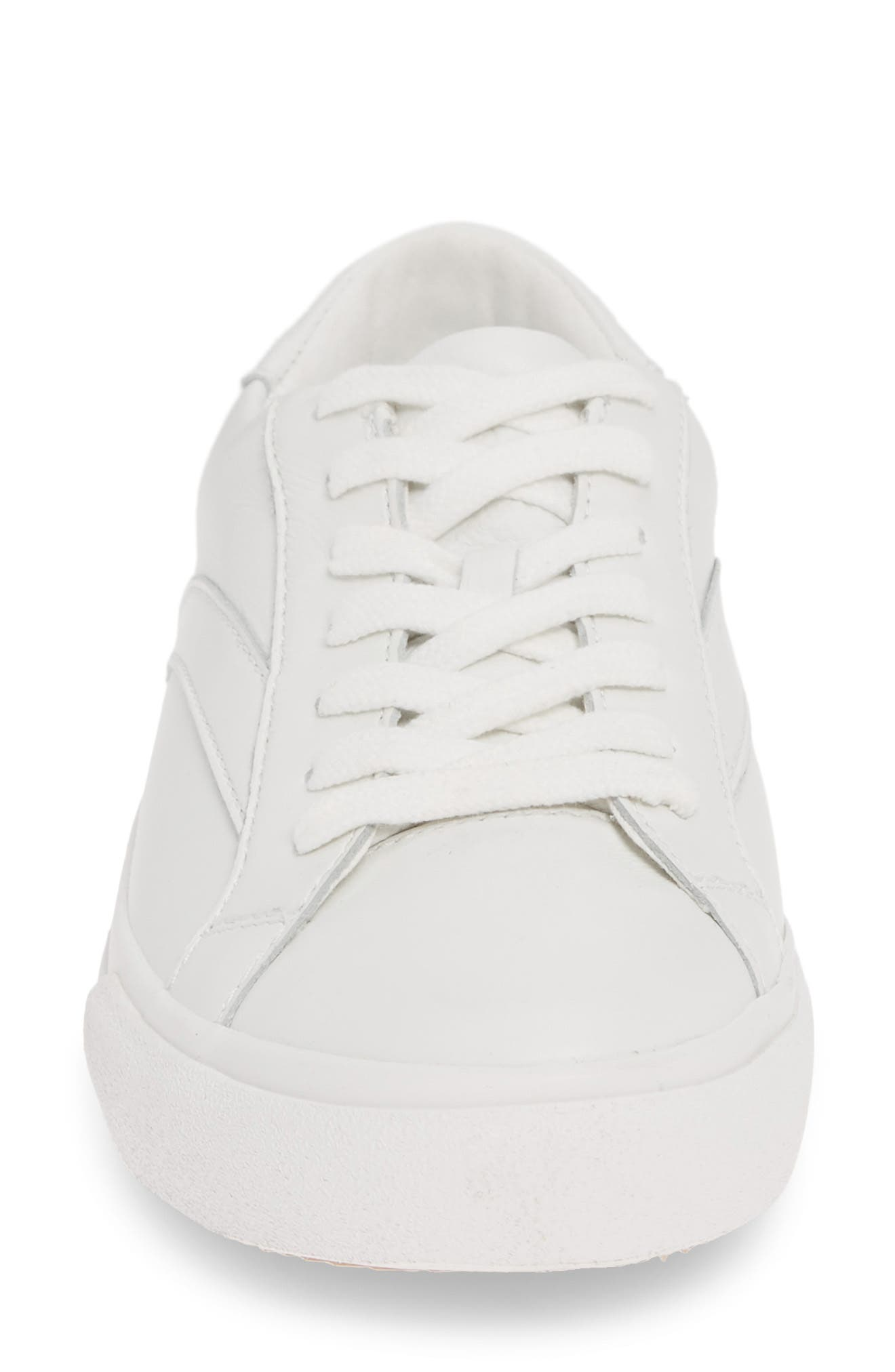 MADEWELL, Sidewalk Low Top Sneaker, Alternate thumbnail 5, color, PALE PARCHMENT LEATHER