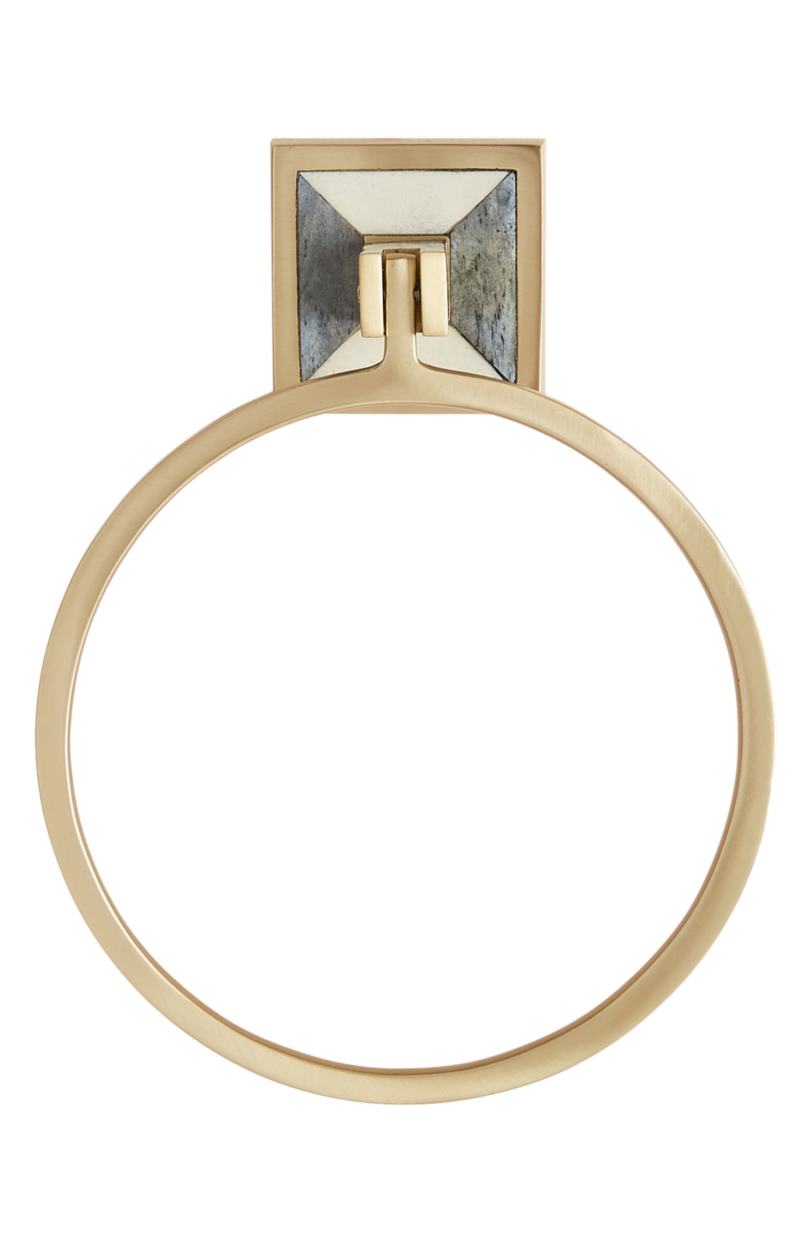 ANTHROPOLOGIE, Cayenne Towel Ring, Alternate thumbnail 4, color, 442