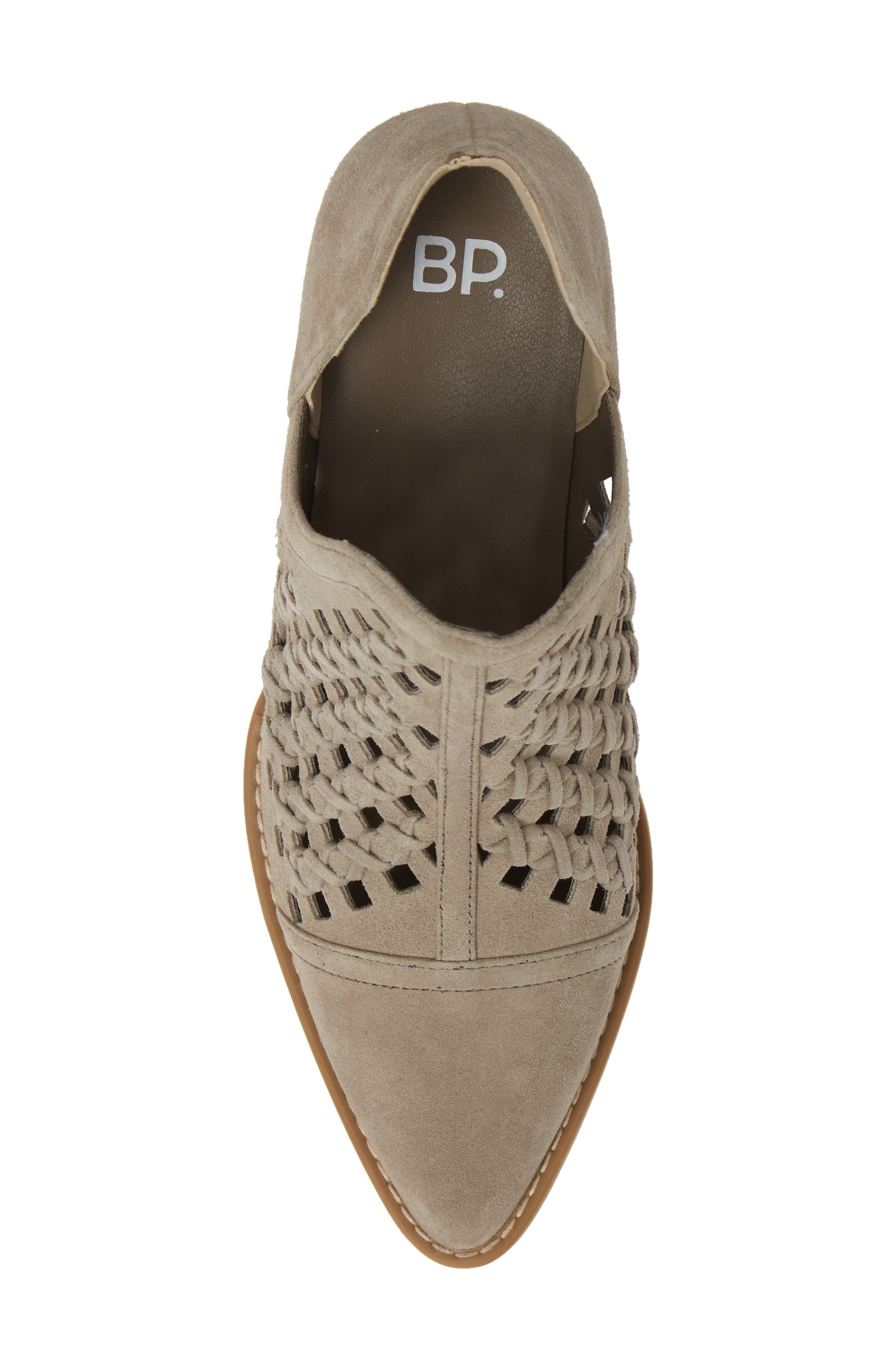 BP., Tate Bootie, Alternate thumbnail 5, color, TAUPE SUEDE