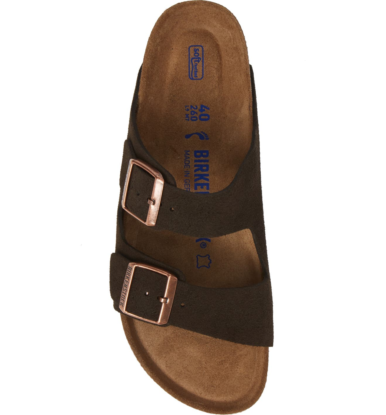 a8392b607 Birkenstock  Arizona  Soft Footbed Suede Sandal (Women)