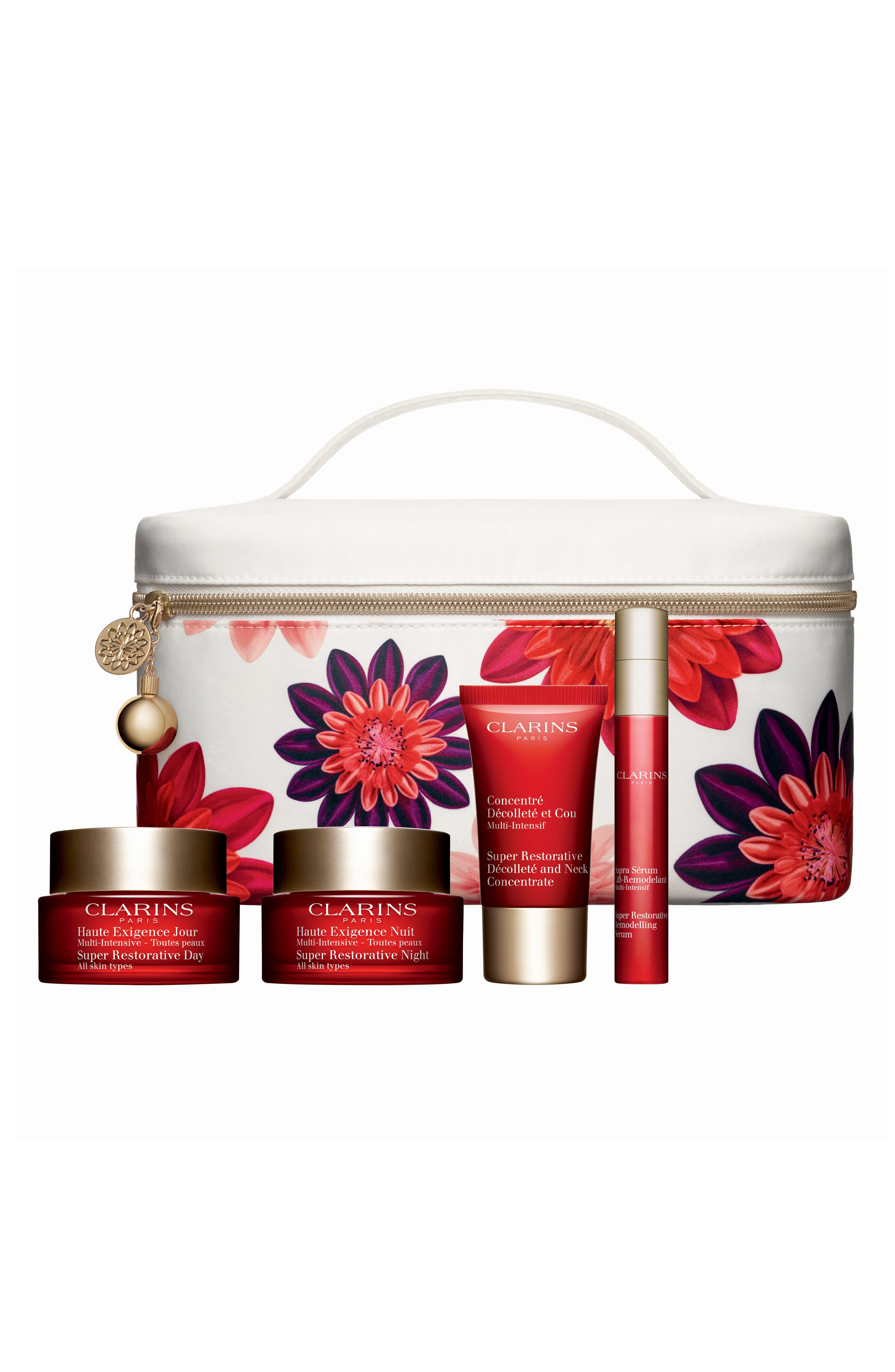 CLARINS, Super Restorative Luxury Collection, Main thumbnail 1, color, 000