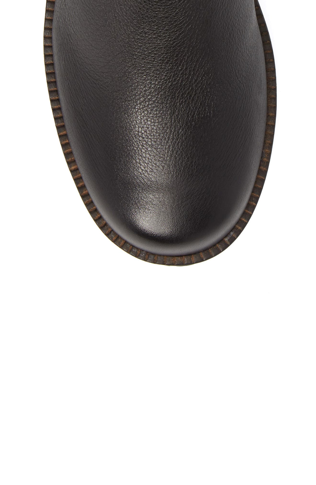GENTLE SOULS BY KENNETH COLE, 'Buckled Up' Boot, Alternate thumbnail 5, color, BLACK