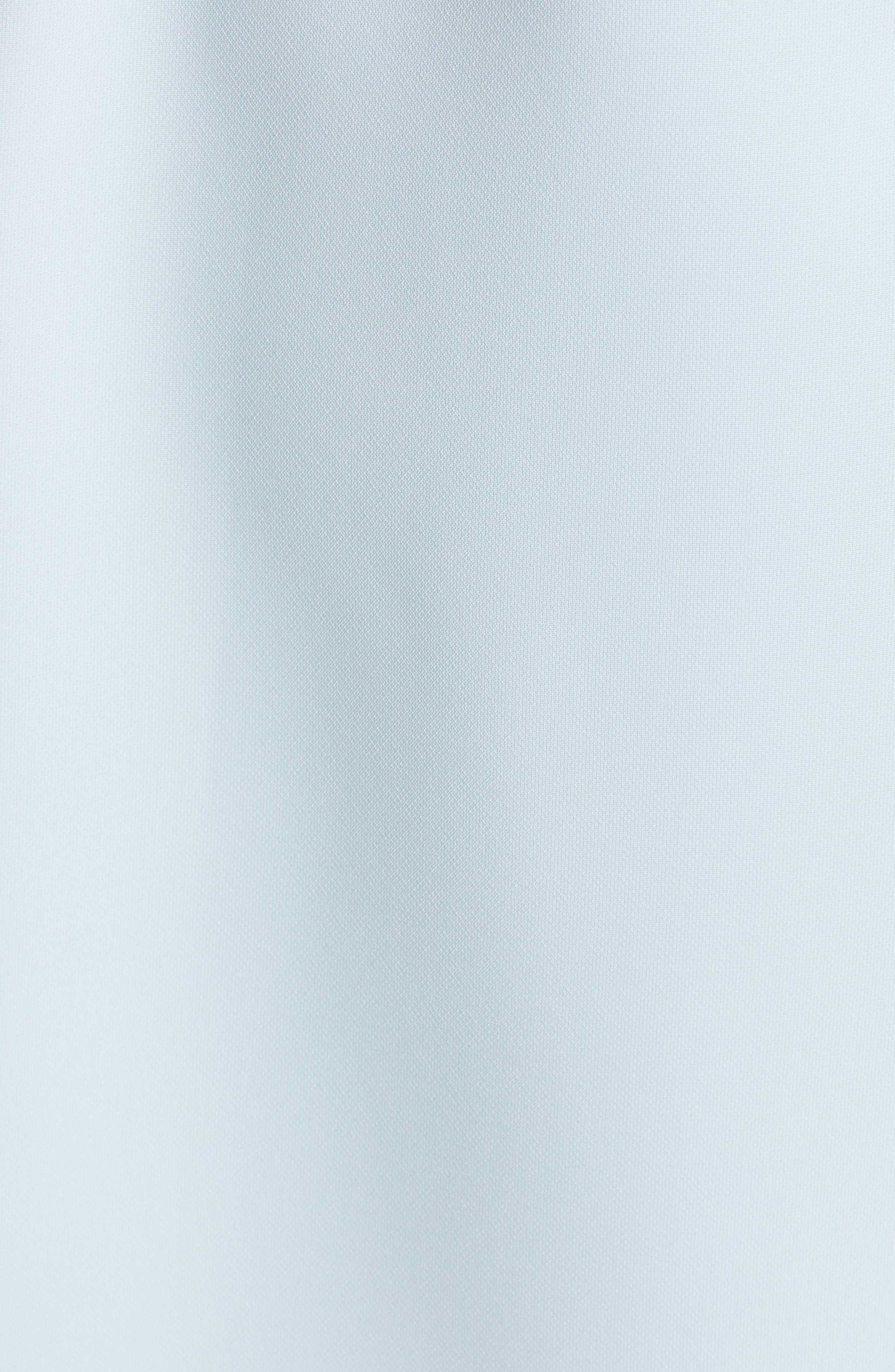TED BAKER LONDON, Meline Side Bow Detail Dress, Alternate thumbnail 6, color, MINT