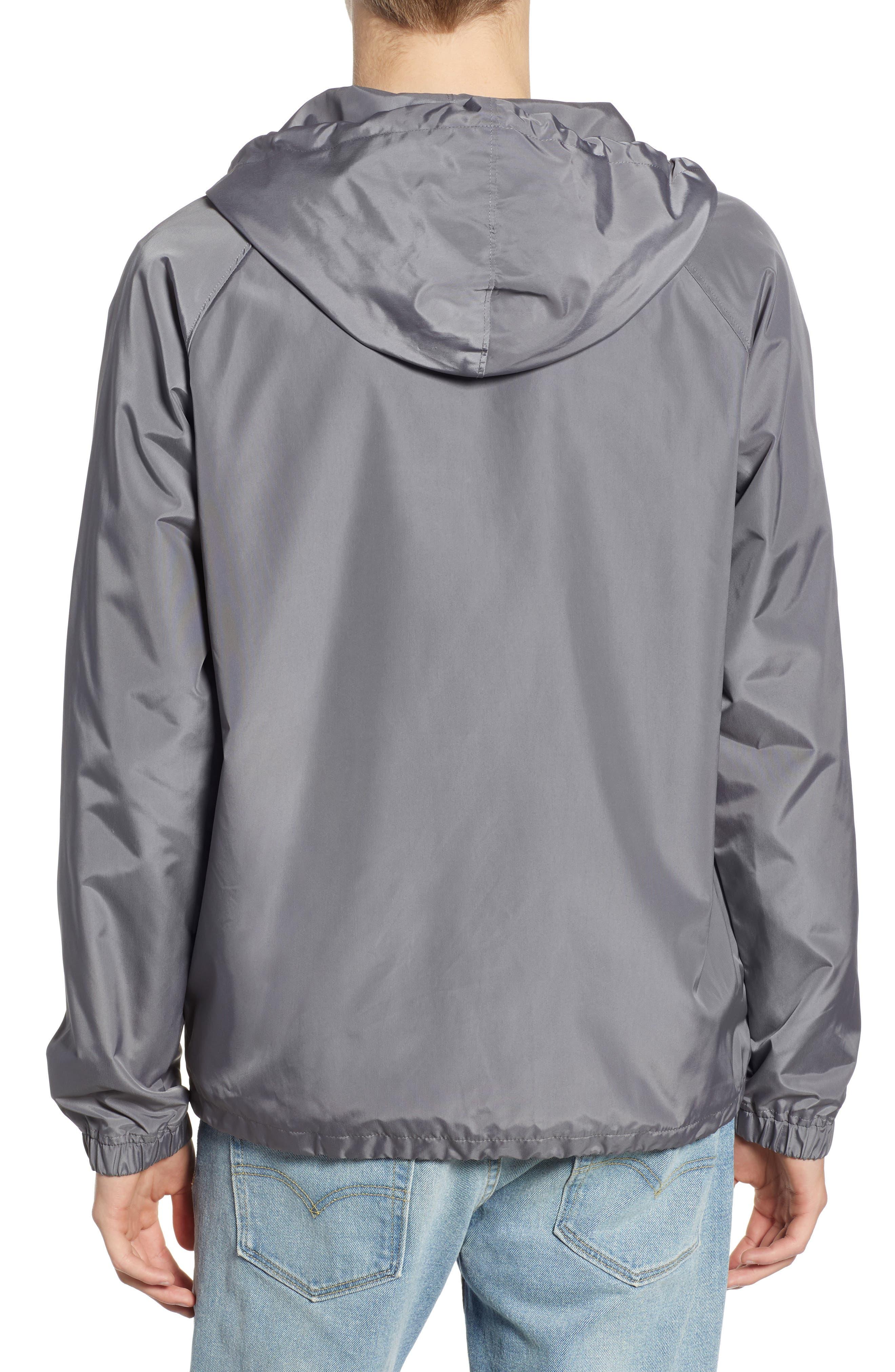 RVCA, VA Hooded Coach's Jacket, Alternate thumbnail 2, color, 026