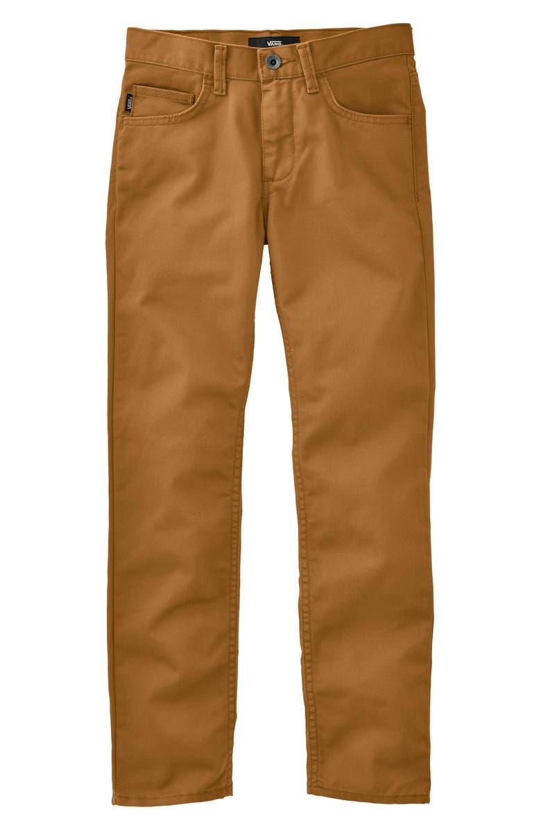 51cf2914aa Vans V56 Standard AV Covina II Pants (Big Boys)