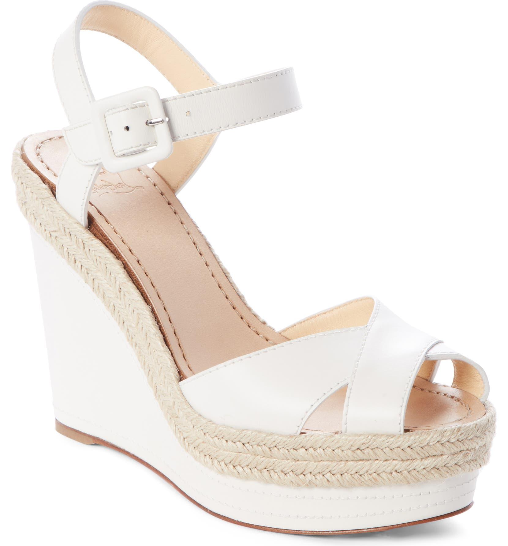 49a5b3380d1 Christian Louboutin Almeria Platform Wedge Sandal (Women)