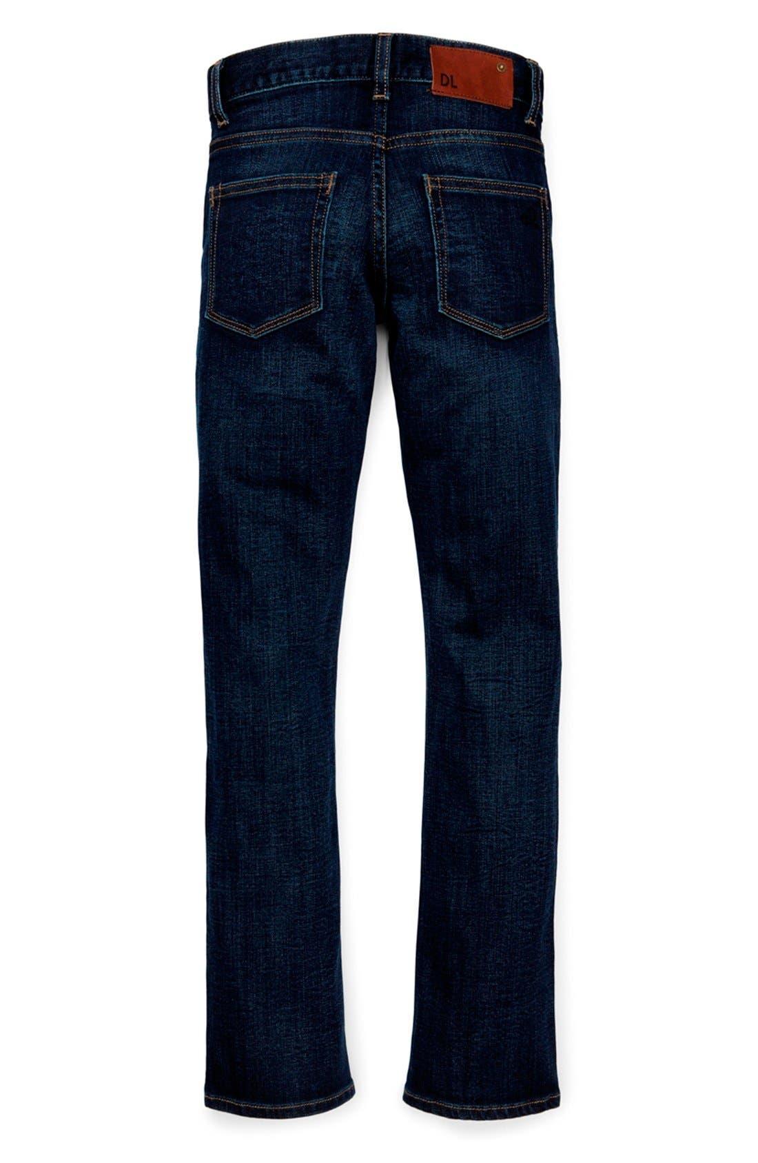 DL1961, 'Brady' Slim Fit Jeans, Alternate thumbnail 3, color, FERRET