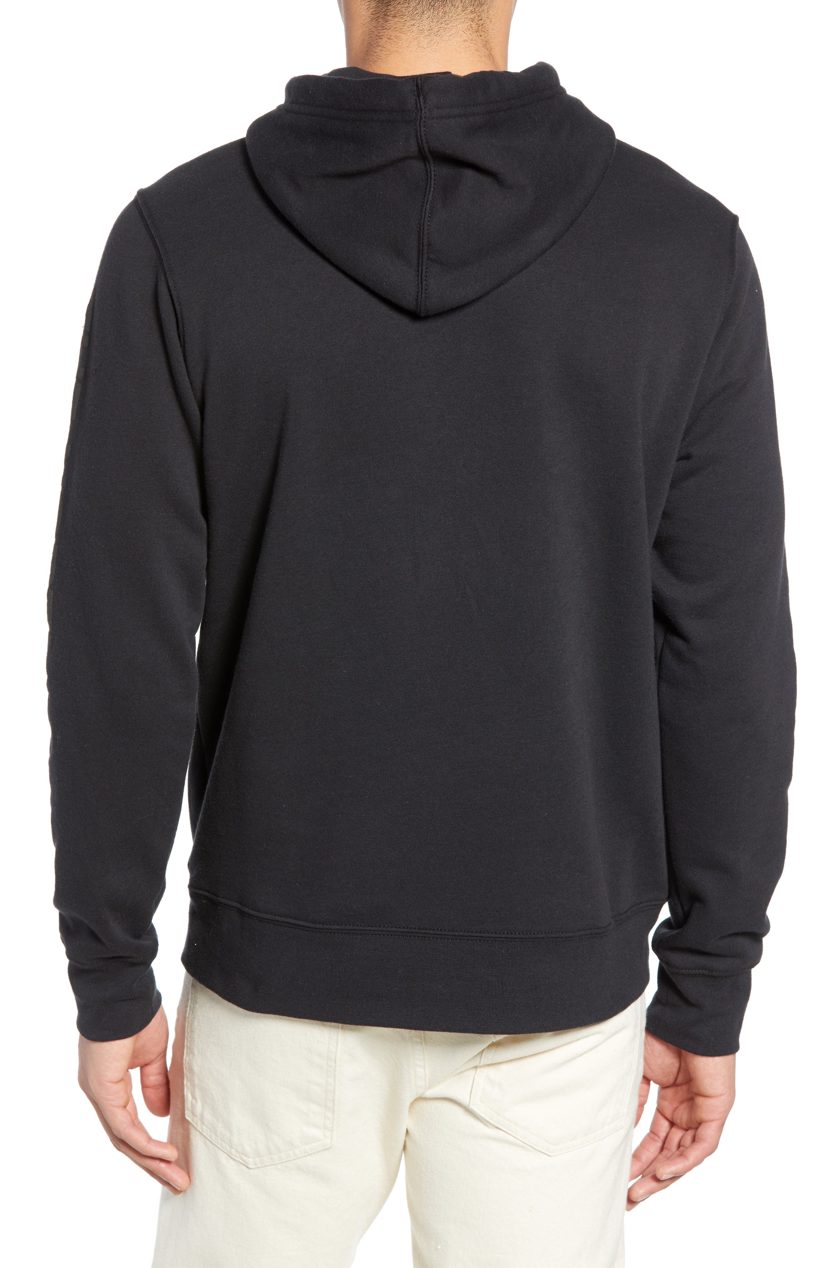 THE NORTH FACE, Urban Ex Collection Pullover Hoodie, Alternate thumbnail 2, color, TNF BLACK