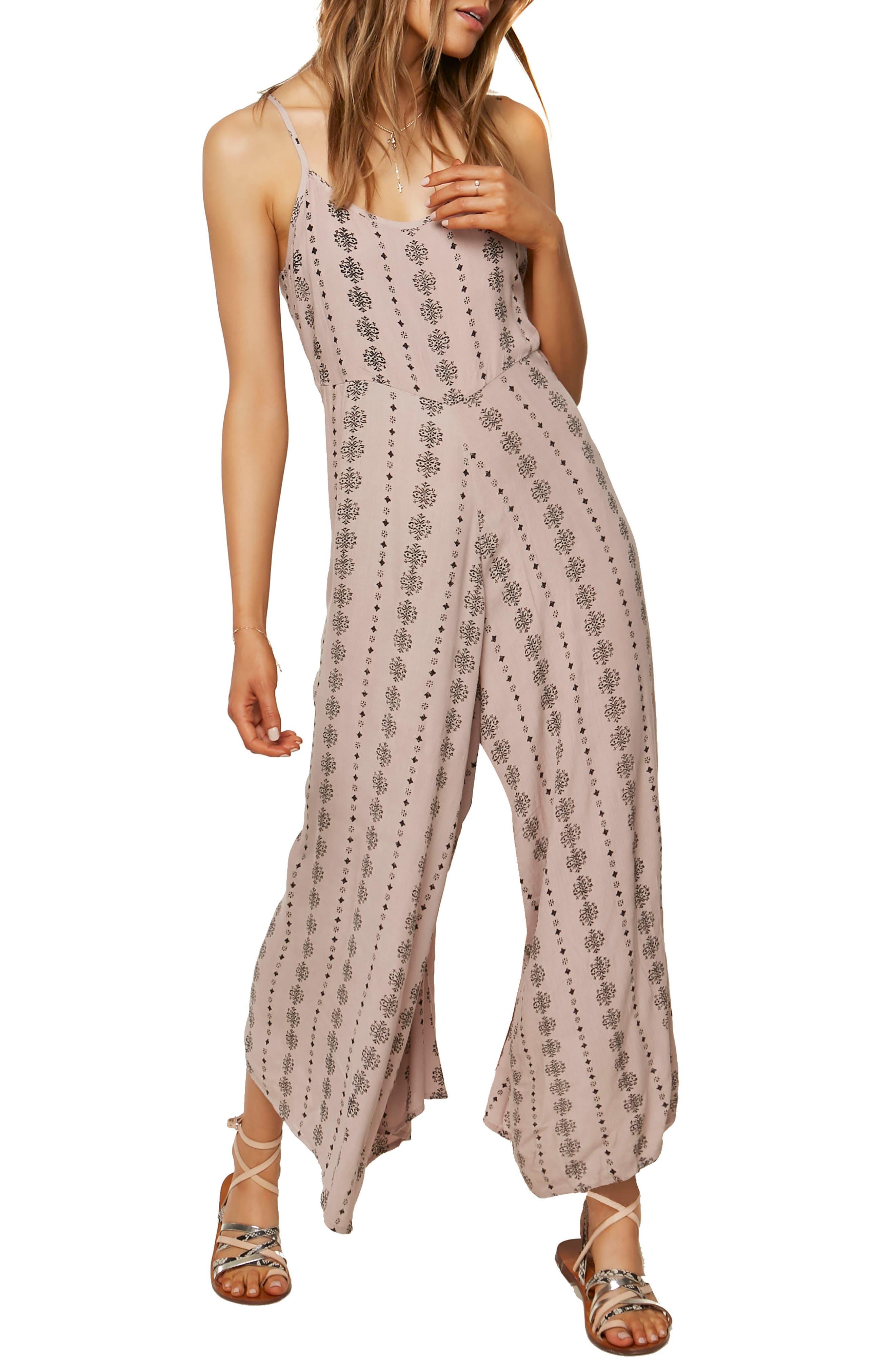 O'NEILL Juls Print Jumpsuit, Main, color, SPHINX