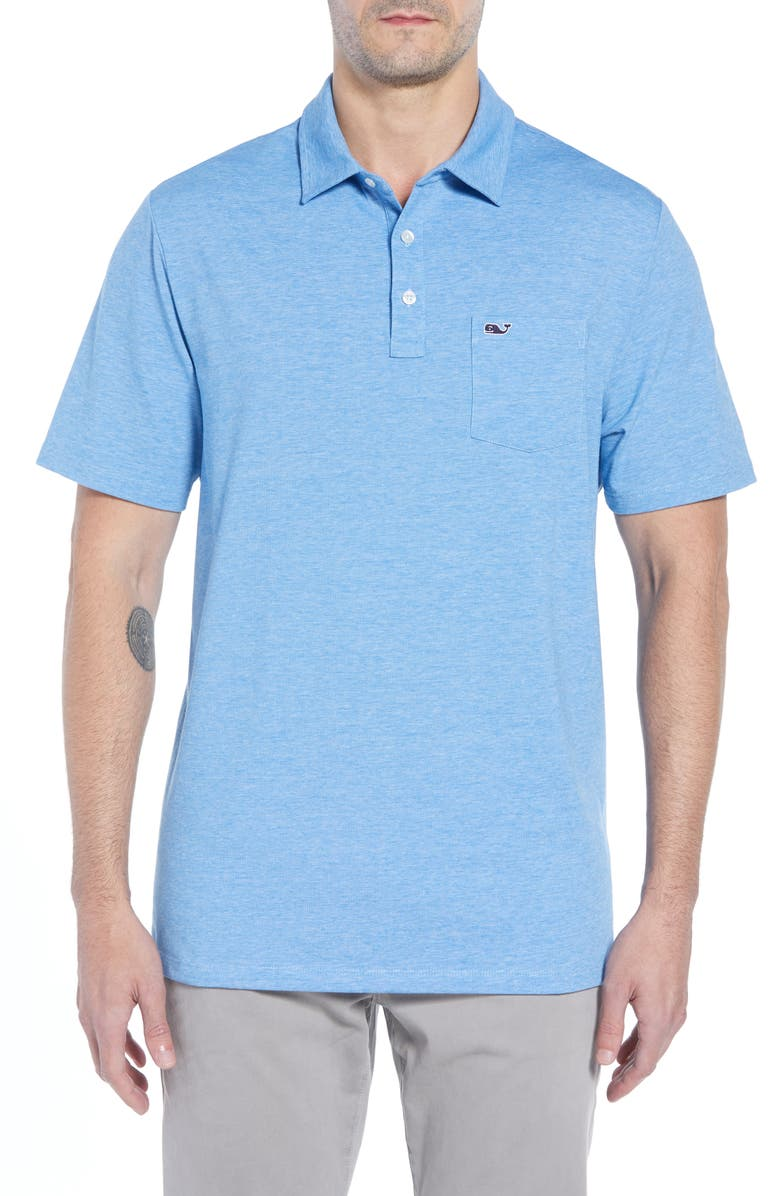 e4453d5e0 A stretchy pima cotton blend means an ideal fit in this casually charming  polo with versatile appeal. Style Name: Vineyard Vines Edgartown Solid  Stretch ...