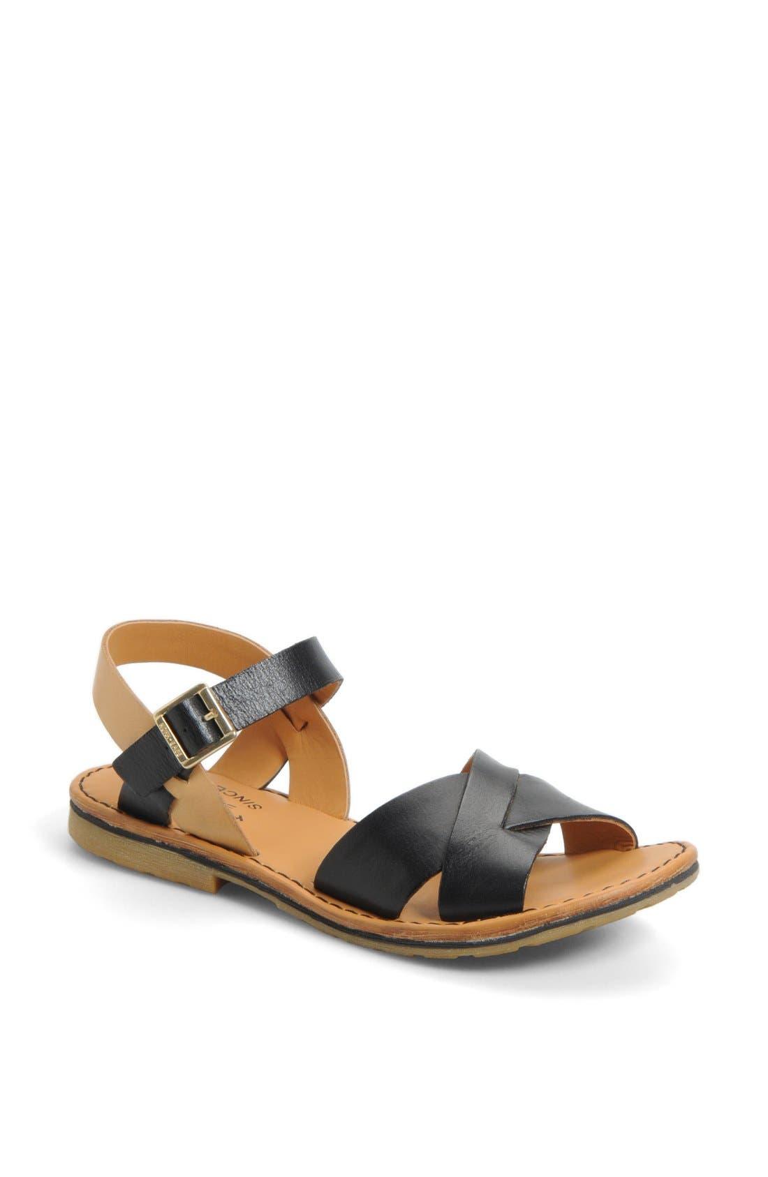 KORK-EASE<SUP>®</SUP>, 'Corine' Sandal, Main thumbnail 1, color, 002