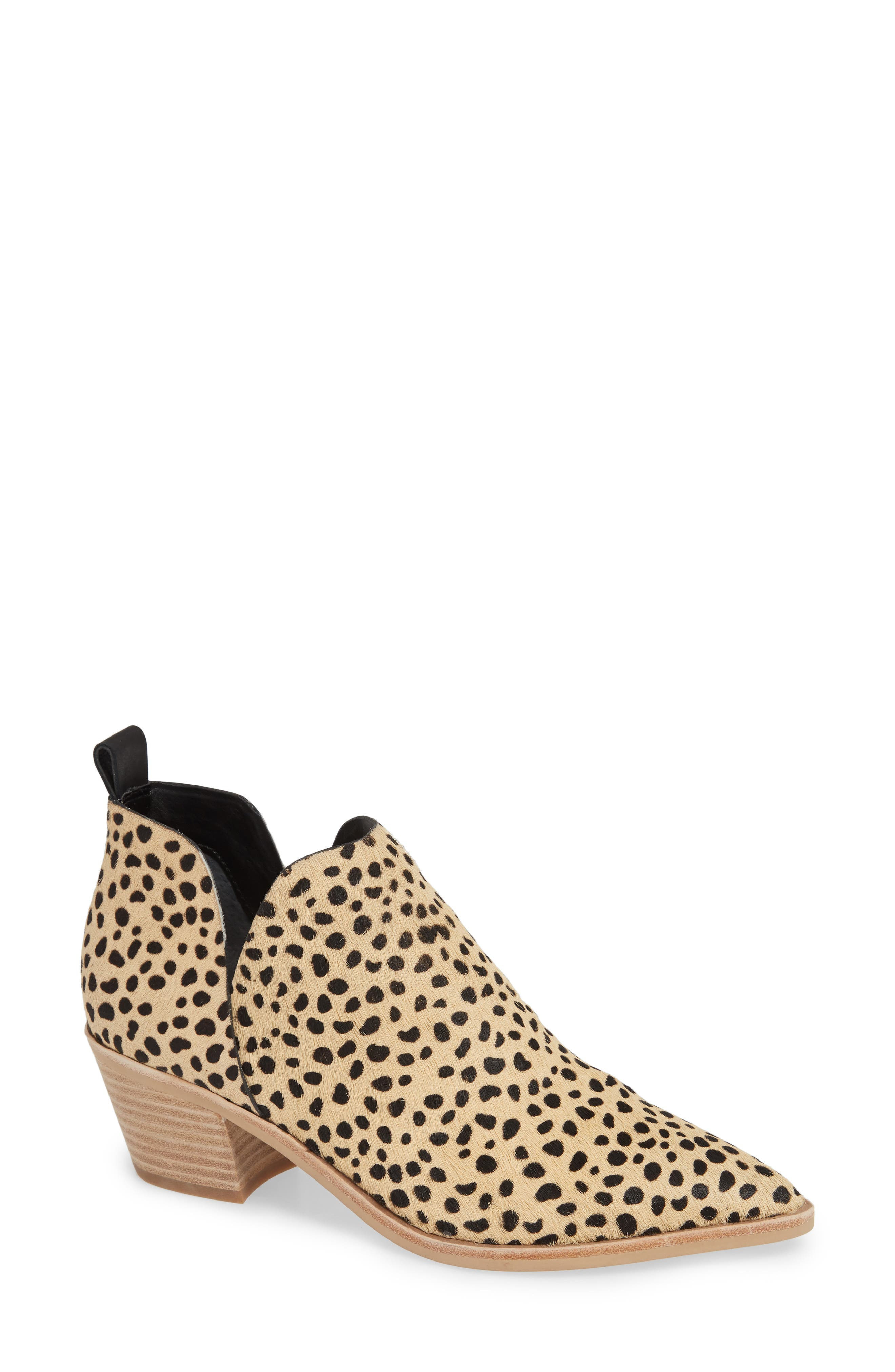 Dolce Vita Sonni Pointy Toe Bootie, Brown