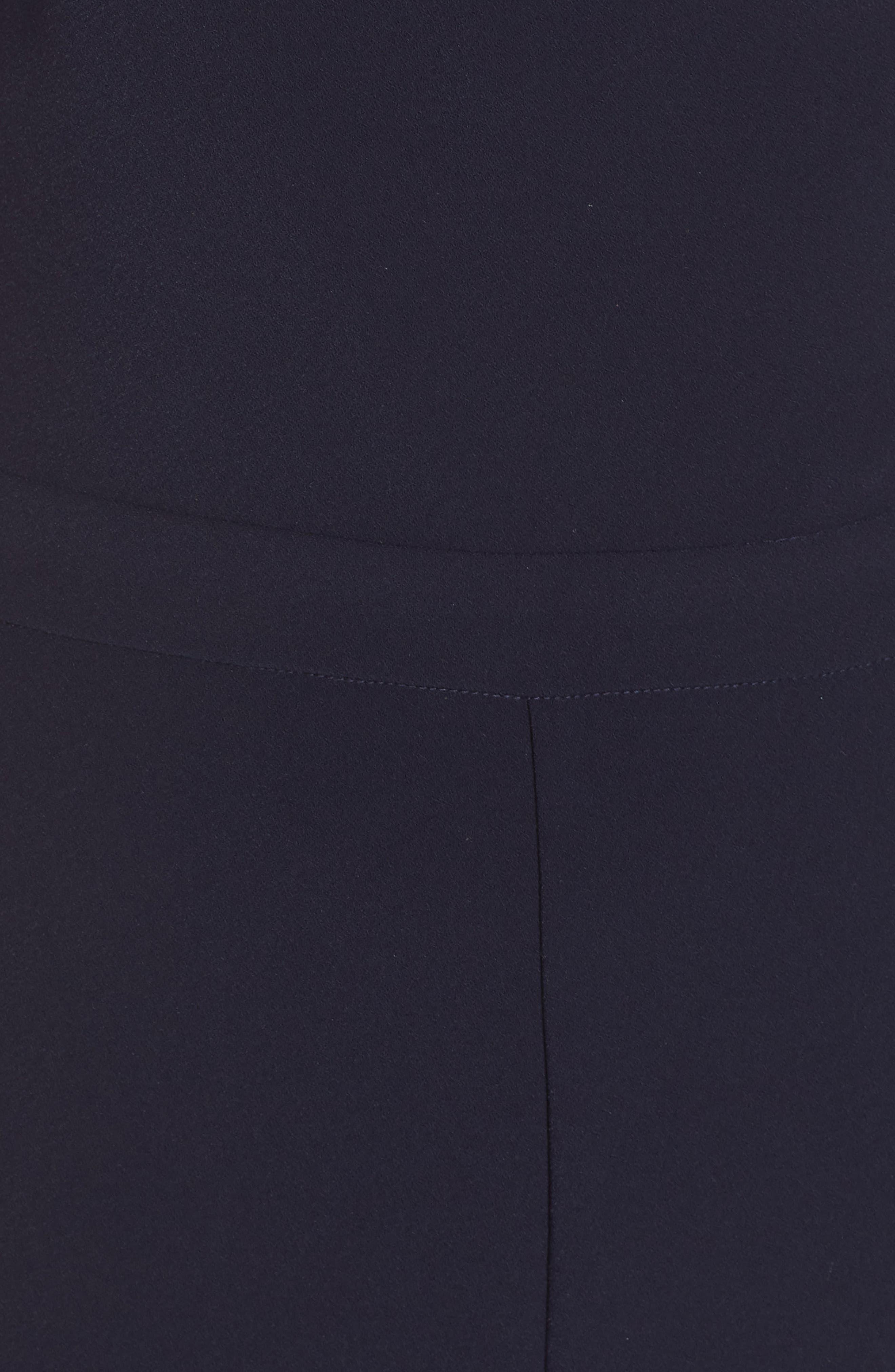 1901, Tuxedo One-Shoulder Jumpsuit, Alternate thumbnail 6, color, 401