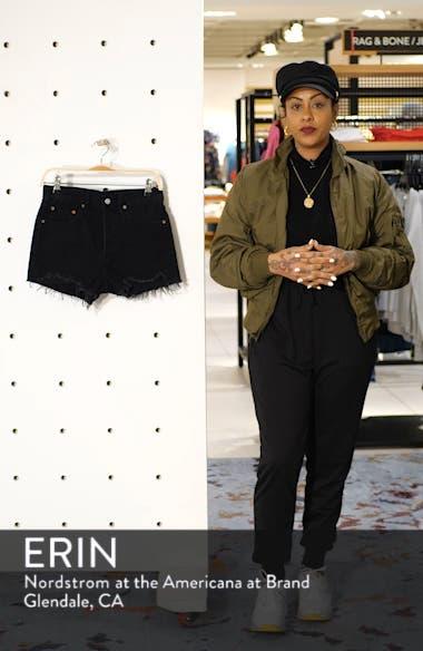 501<sup>®</sup> High Rise Denim Shorts, sales video thumbnail