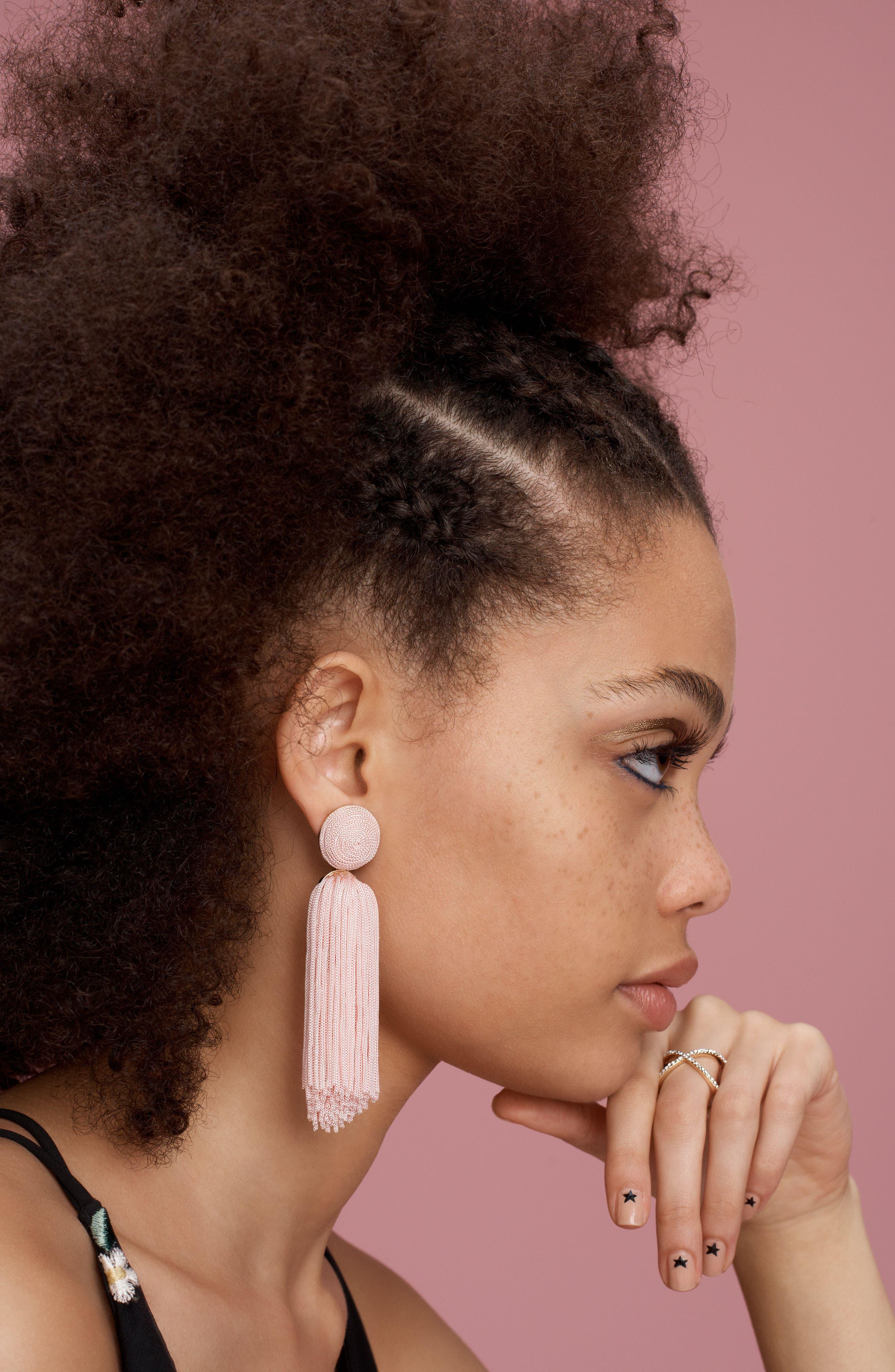 BAUBLEBAR, Sonatina Tassel Earrings, Alternate thumbnail 3, color, 001