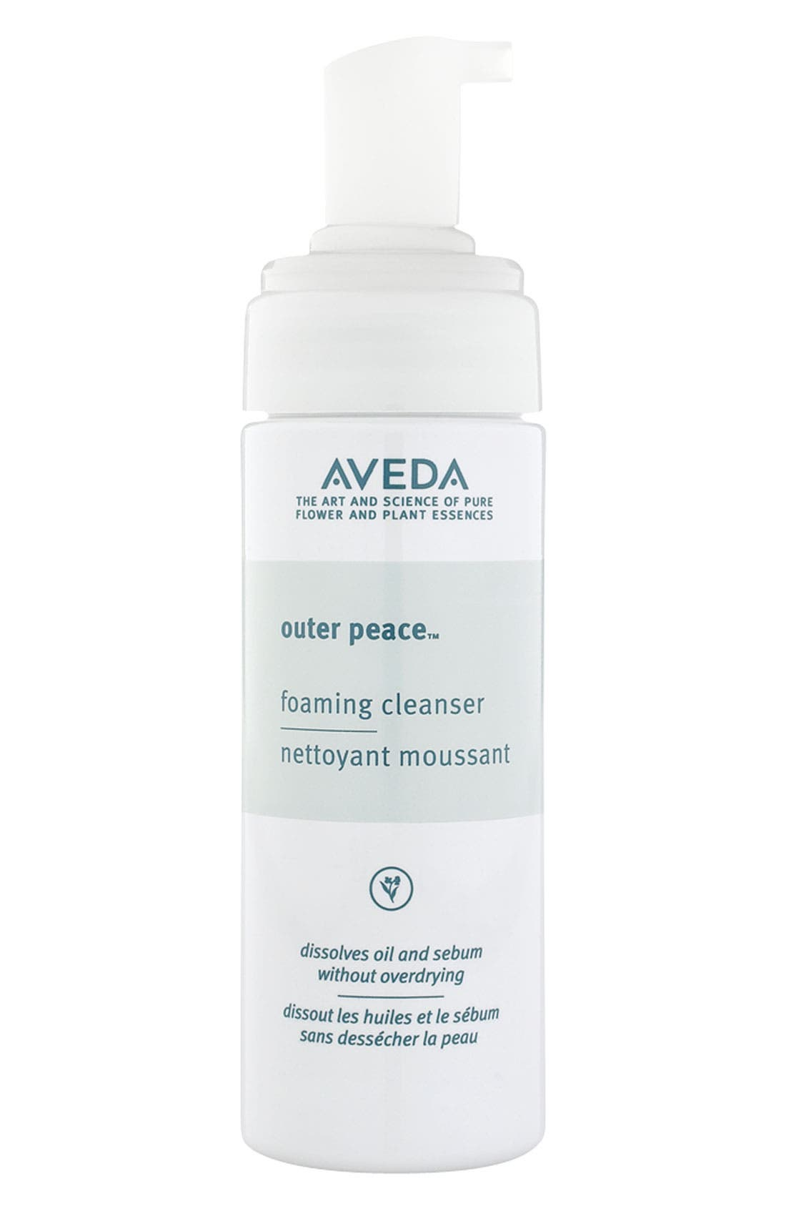 AVEDA, outer peace<sup>™</sup> Foaming Cleanser, Main thumbnail 1, color, NO COLOR