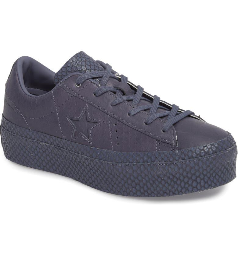 d3f2efcef00c Converse Chuck Taylor® All Star® One Star Platform Sneaker (Women ...