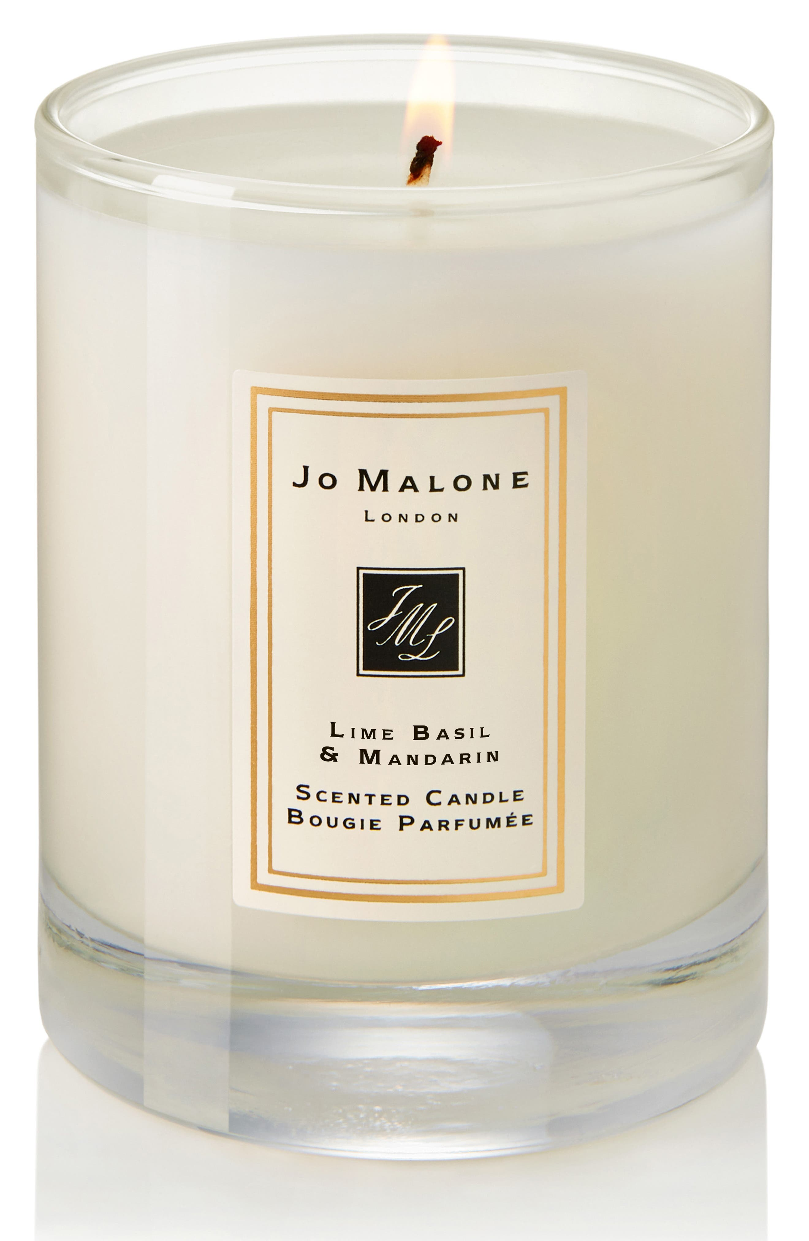 JO MALONE LONDON<SUP>™</SUP>, Lime Basil & Mandarin Travel Candle, Alternate thumbnail 2, color, NO COLOR