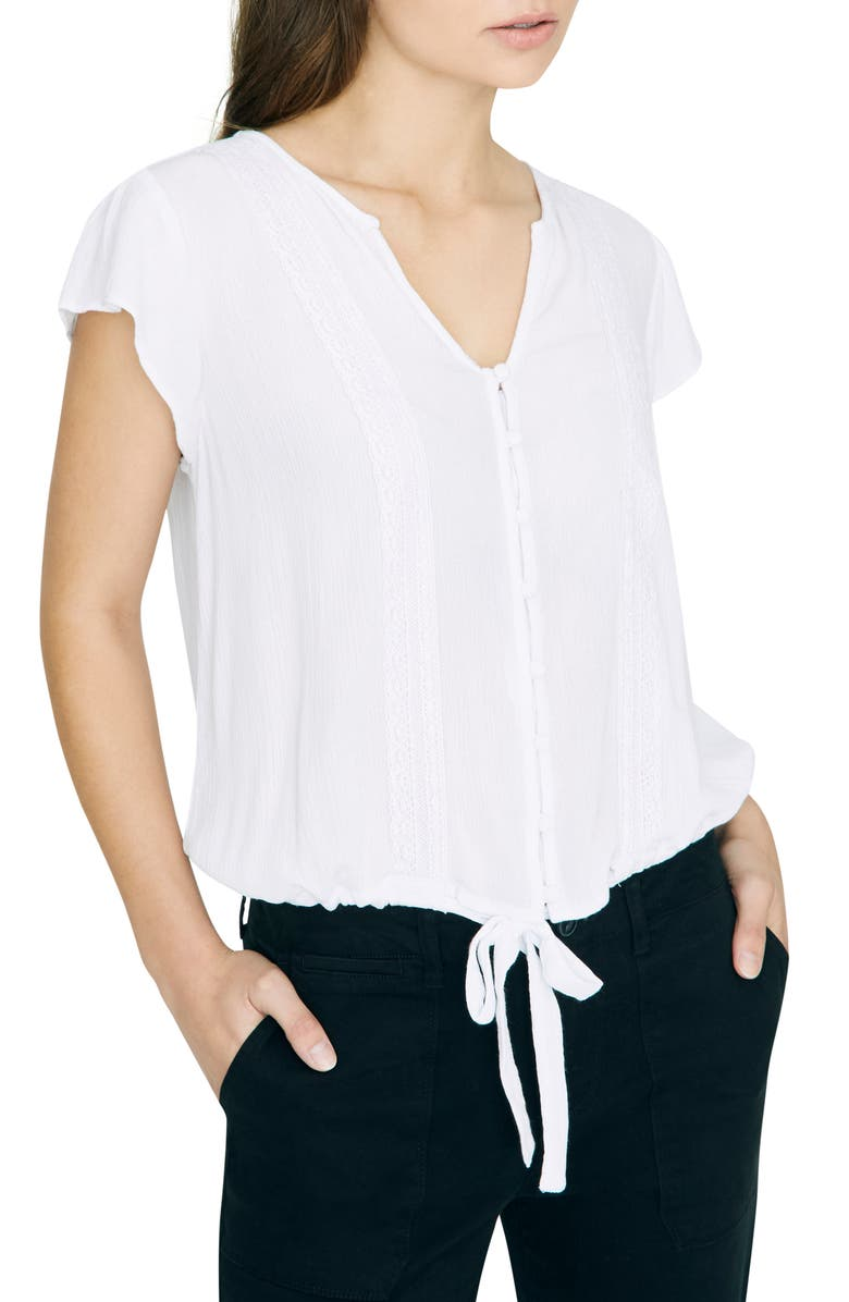 Sanctuary Tops BOHEMIAN TIE FRONT TOP