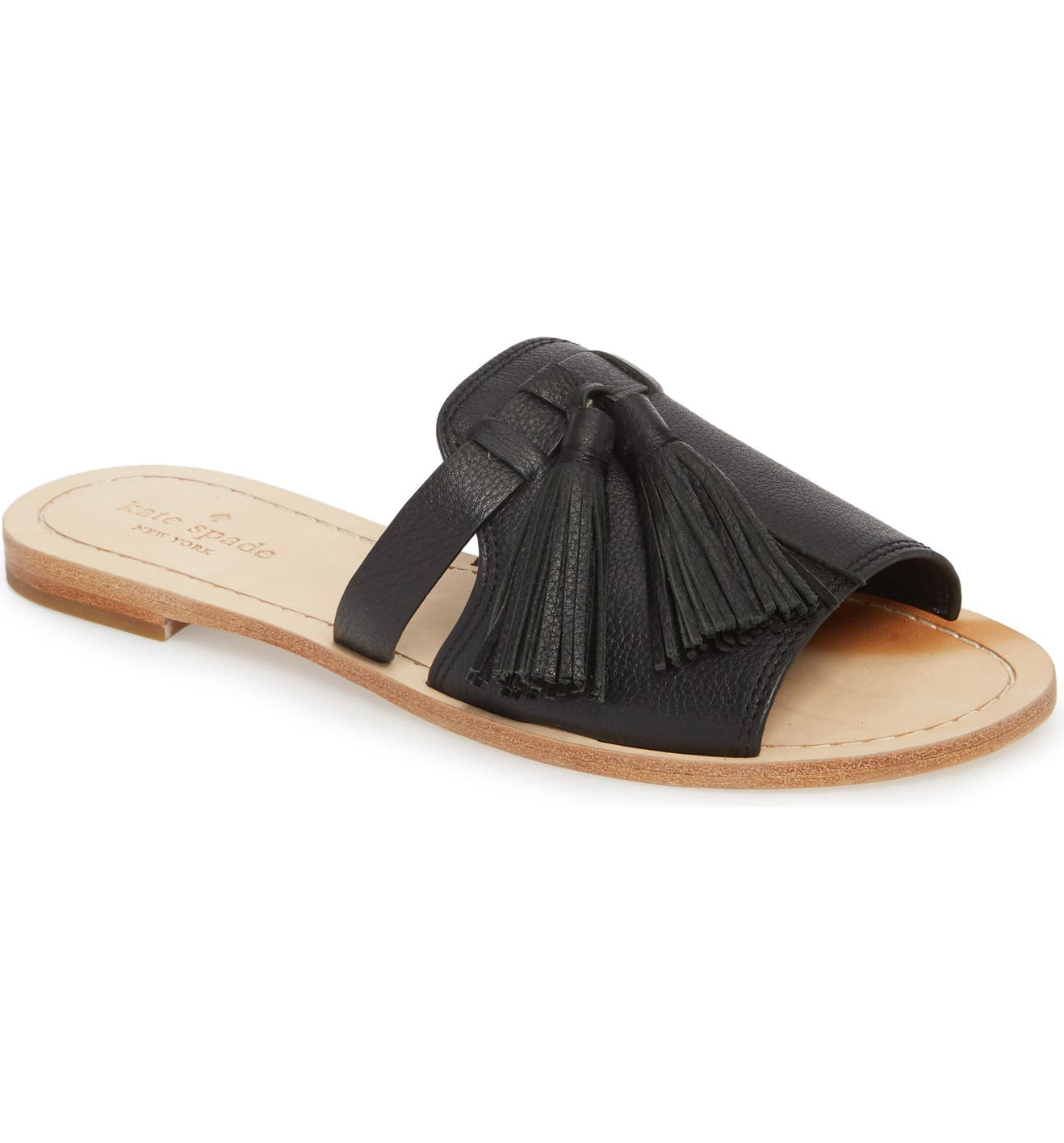 57c539cdf966 kate spade new york coby tassel slide sandal (Women)