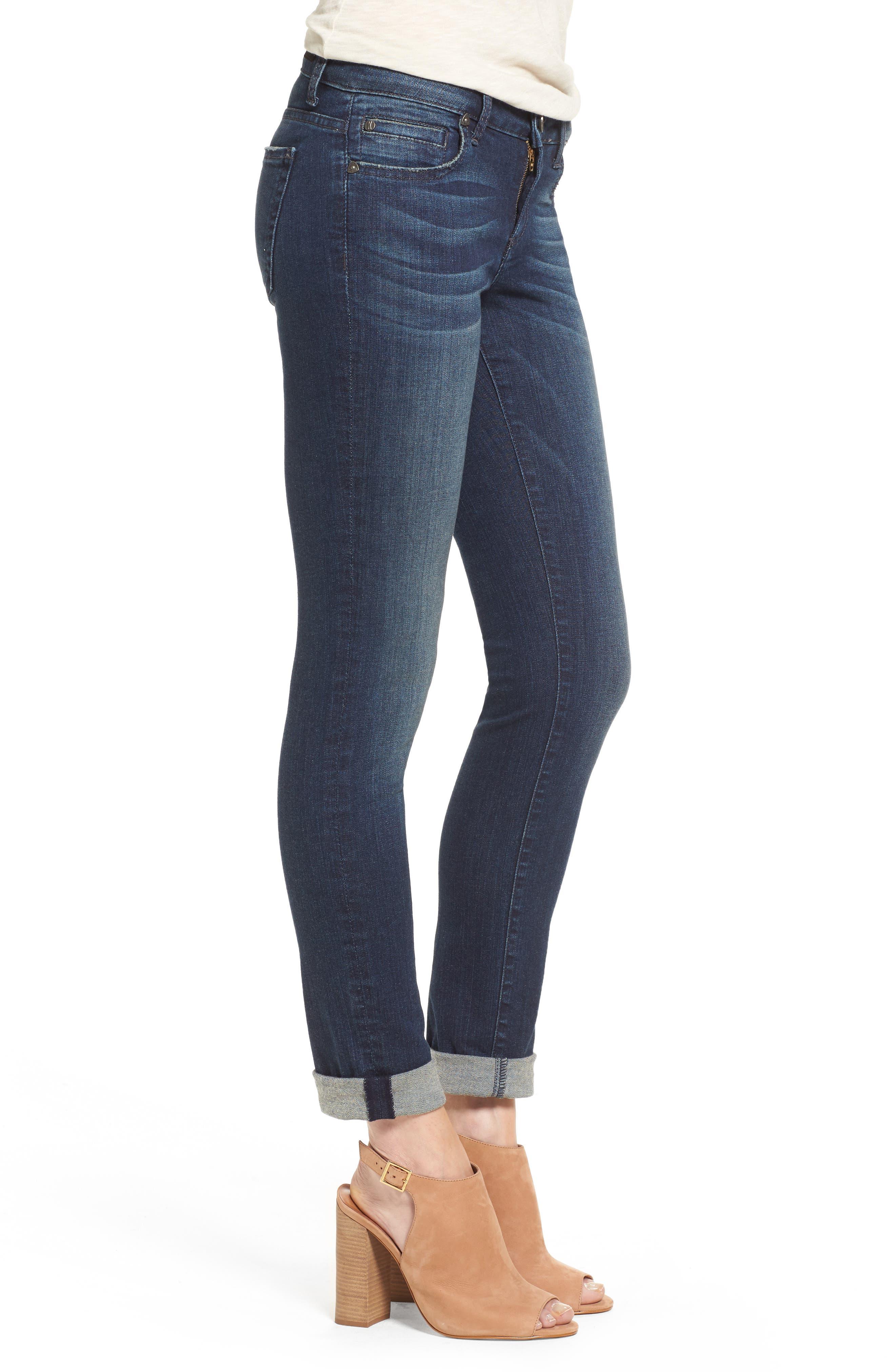KUT FROM THE KLOTH, 'Catherine' Slim Boyfriend Jeans, Alternate thumbnail 2, color, CAREFULNESS