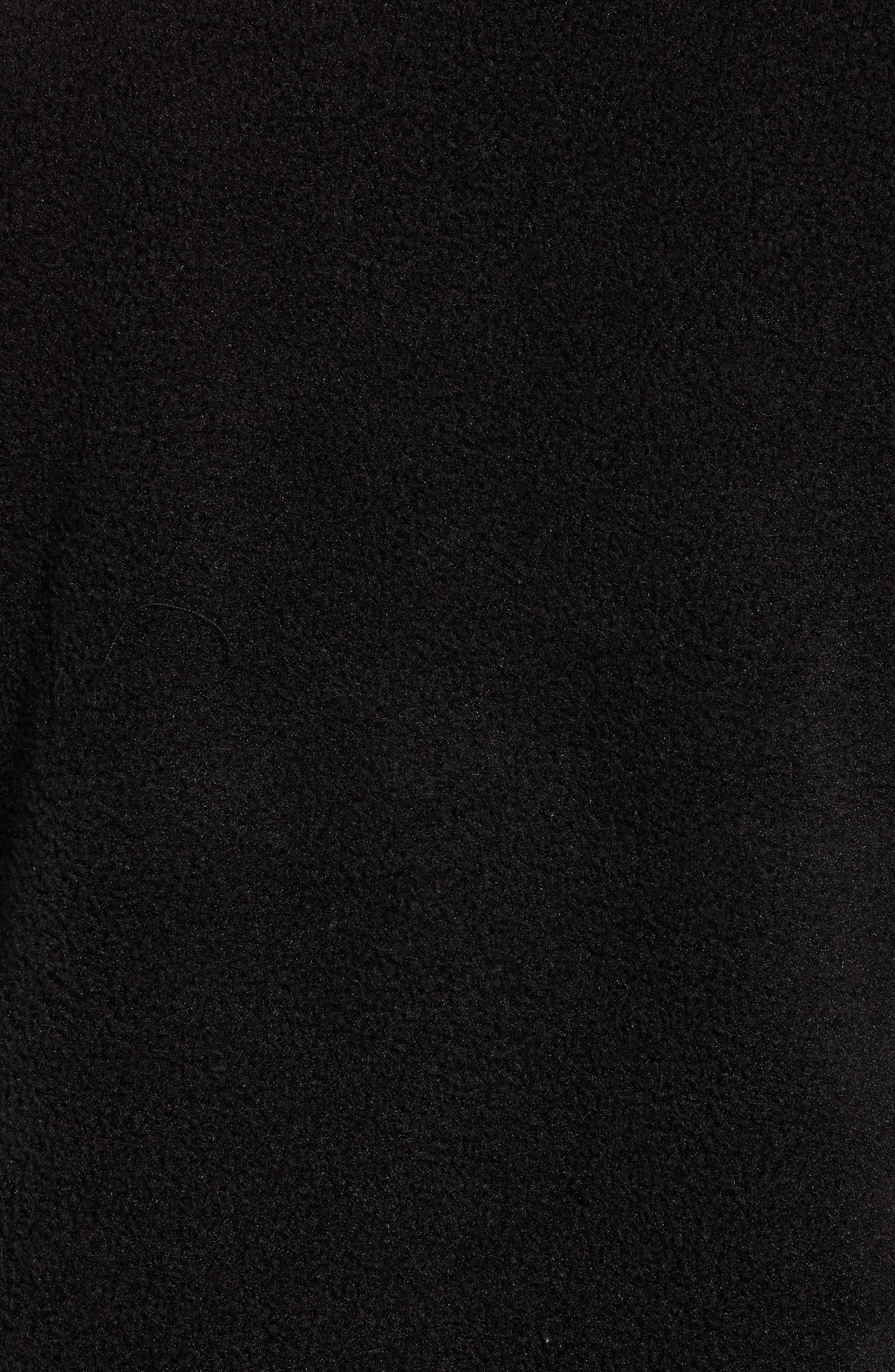 THE NORTH FACE, Tolmiepeak Hybrid Half-Zip Pullover, Alternate thumbnail 6, color, 001