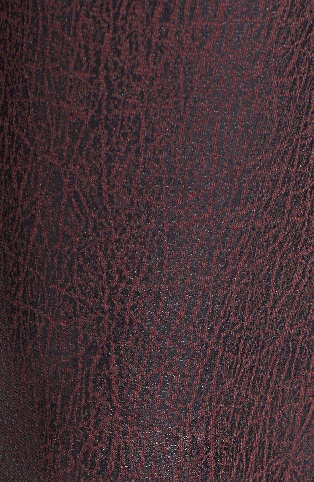 BP., Crackled Faux Leather Leggings, Alternate thumbnail 3, color, 600