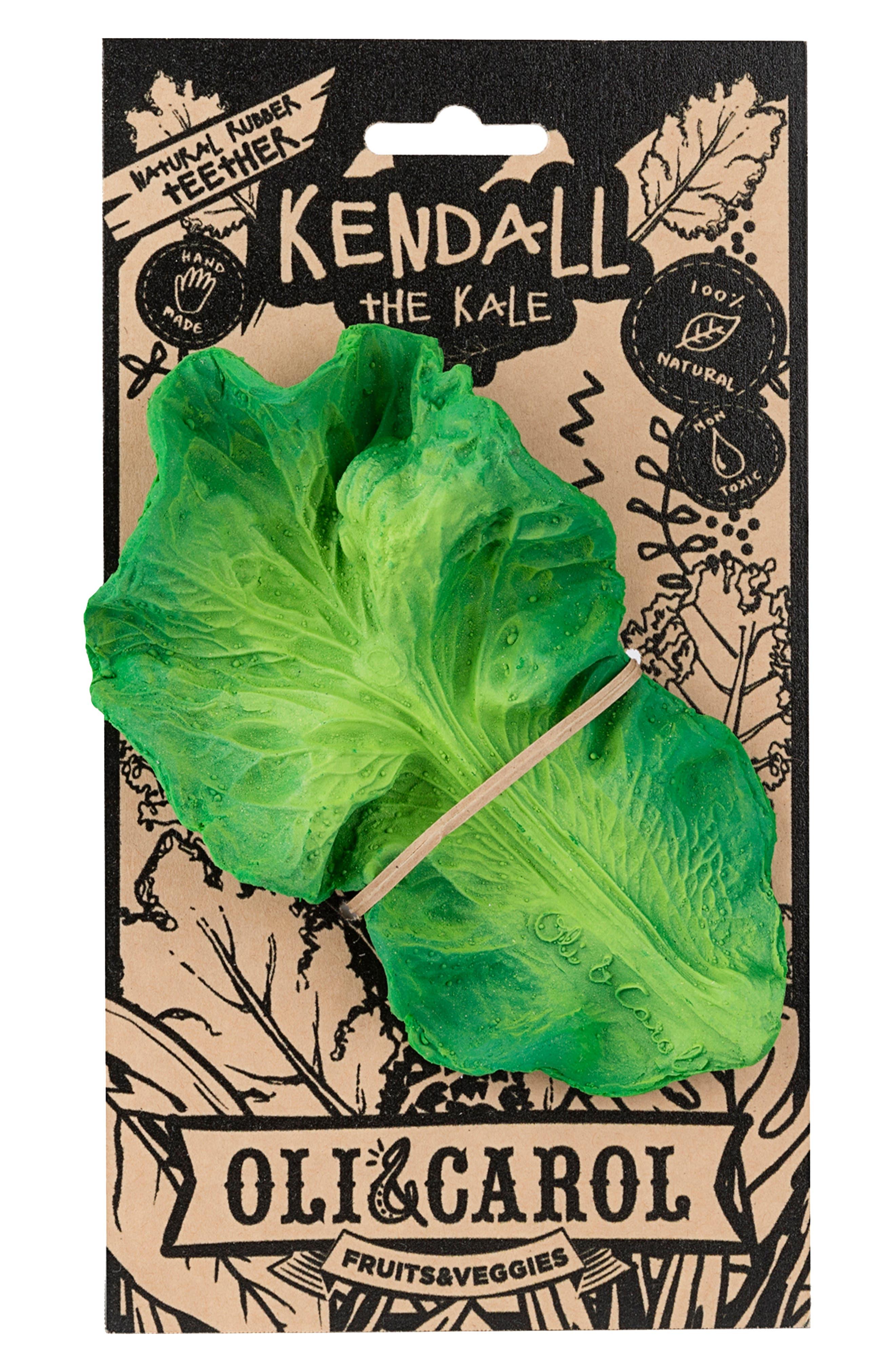 OLI & CAROL, Oli and Carol Kendall the Kale Teething Toy, Alternate thumbnail 4, color, 300