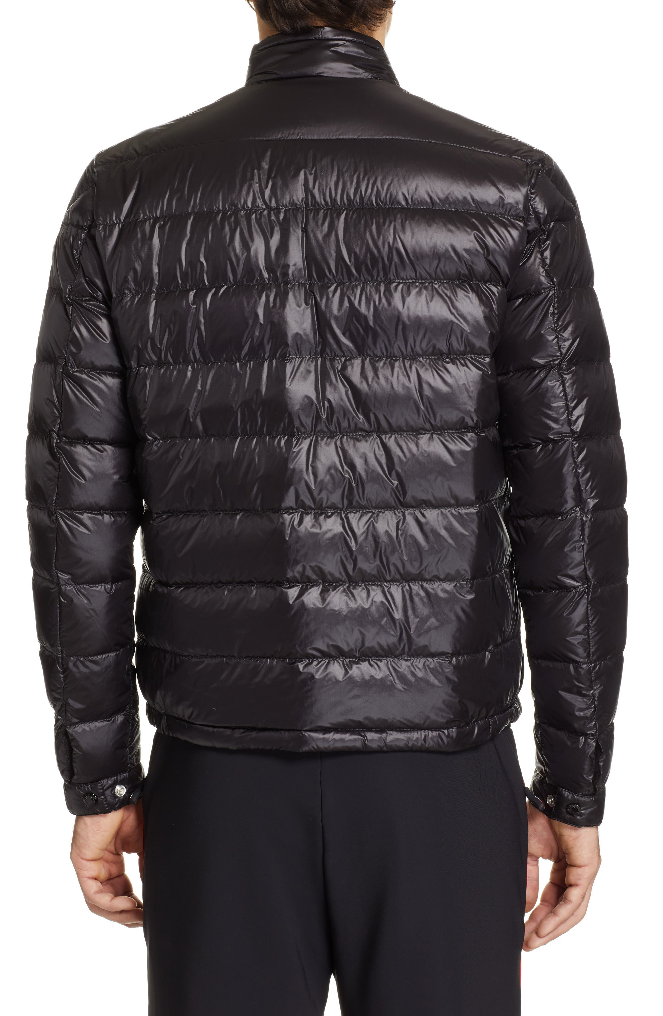 MONCLER, Acorus Down Jacket, Alternate thumbnail 2, color, BLACK