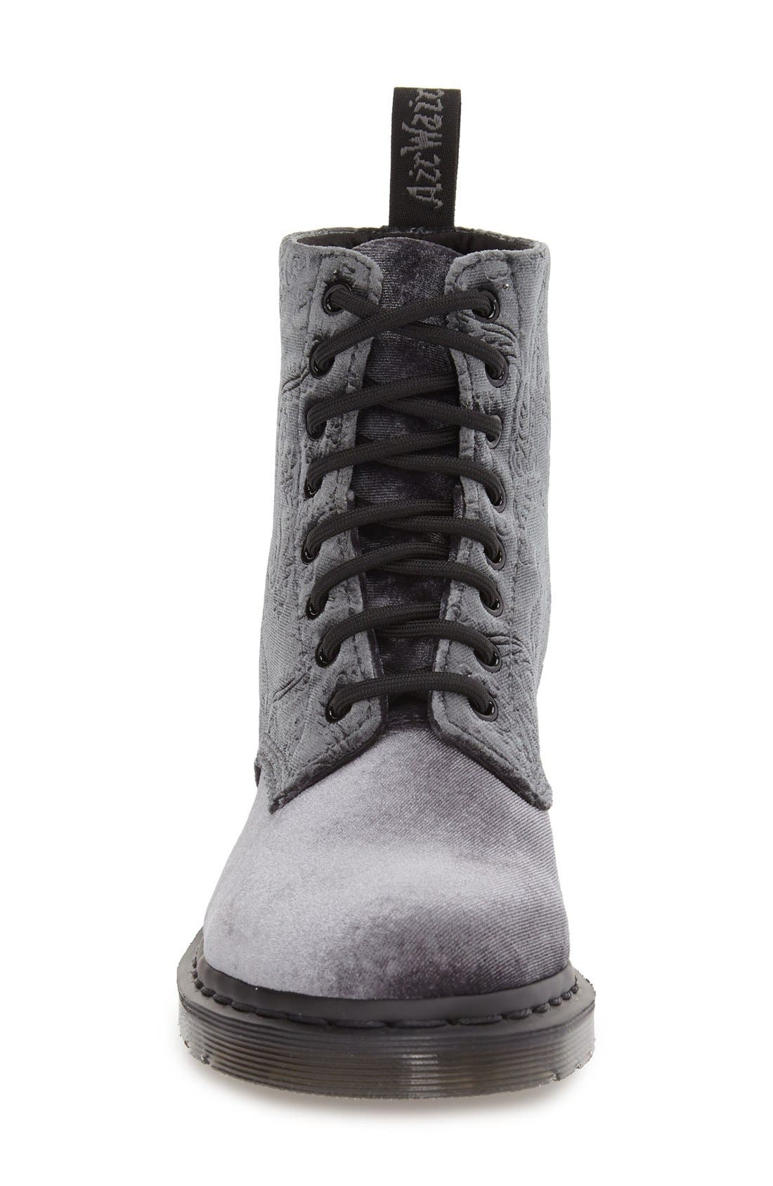 DR. MARTENS, 'Pascal' Hiking Boot, Alternate thumbnail 4, color, 020
