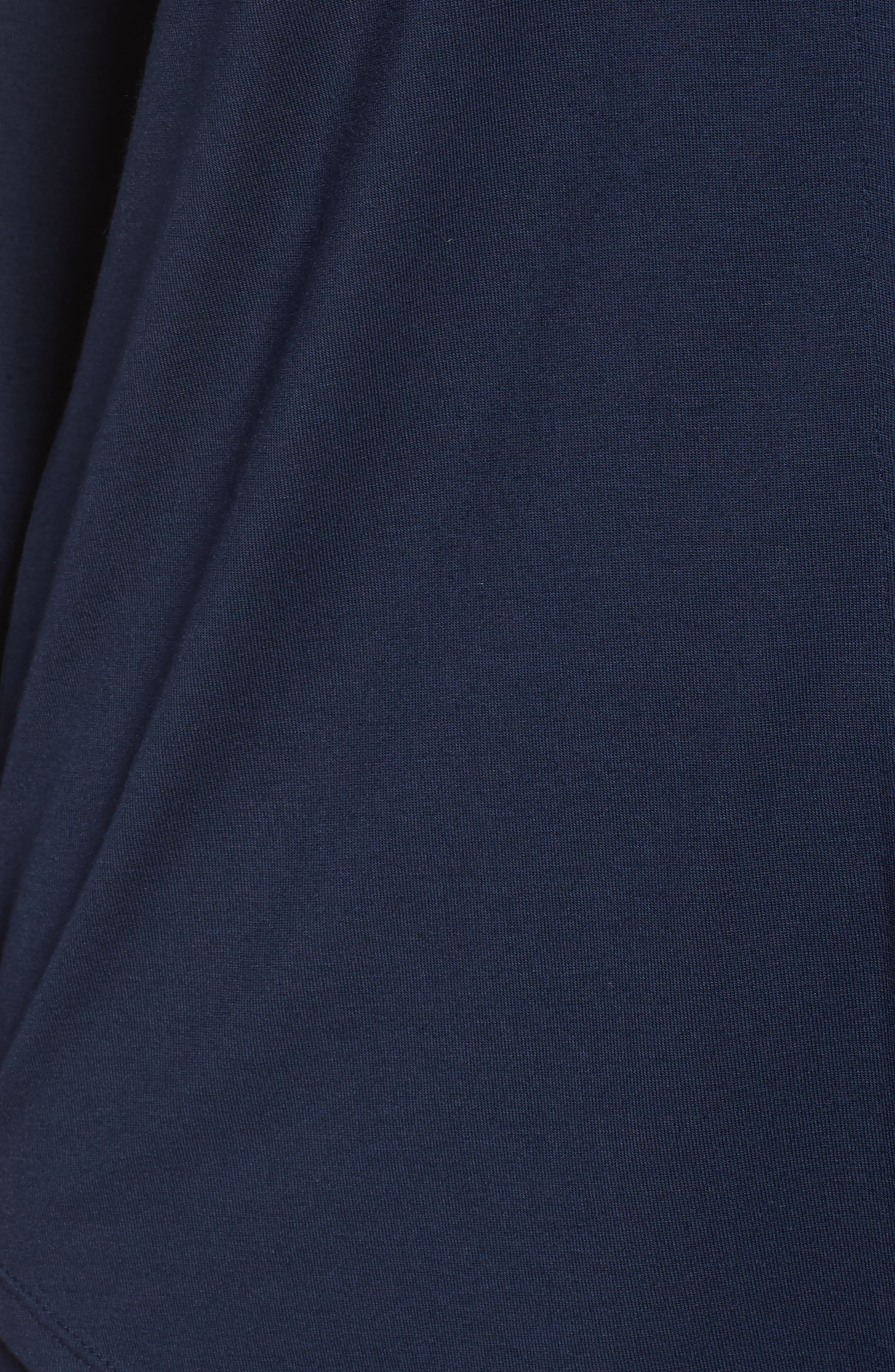 LAUREN RALPH LAUREN, Jersey Pajamas, Alternate thumbnail 5, color, SPRING NAVY