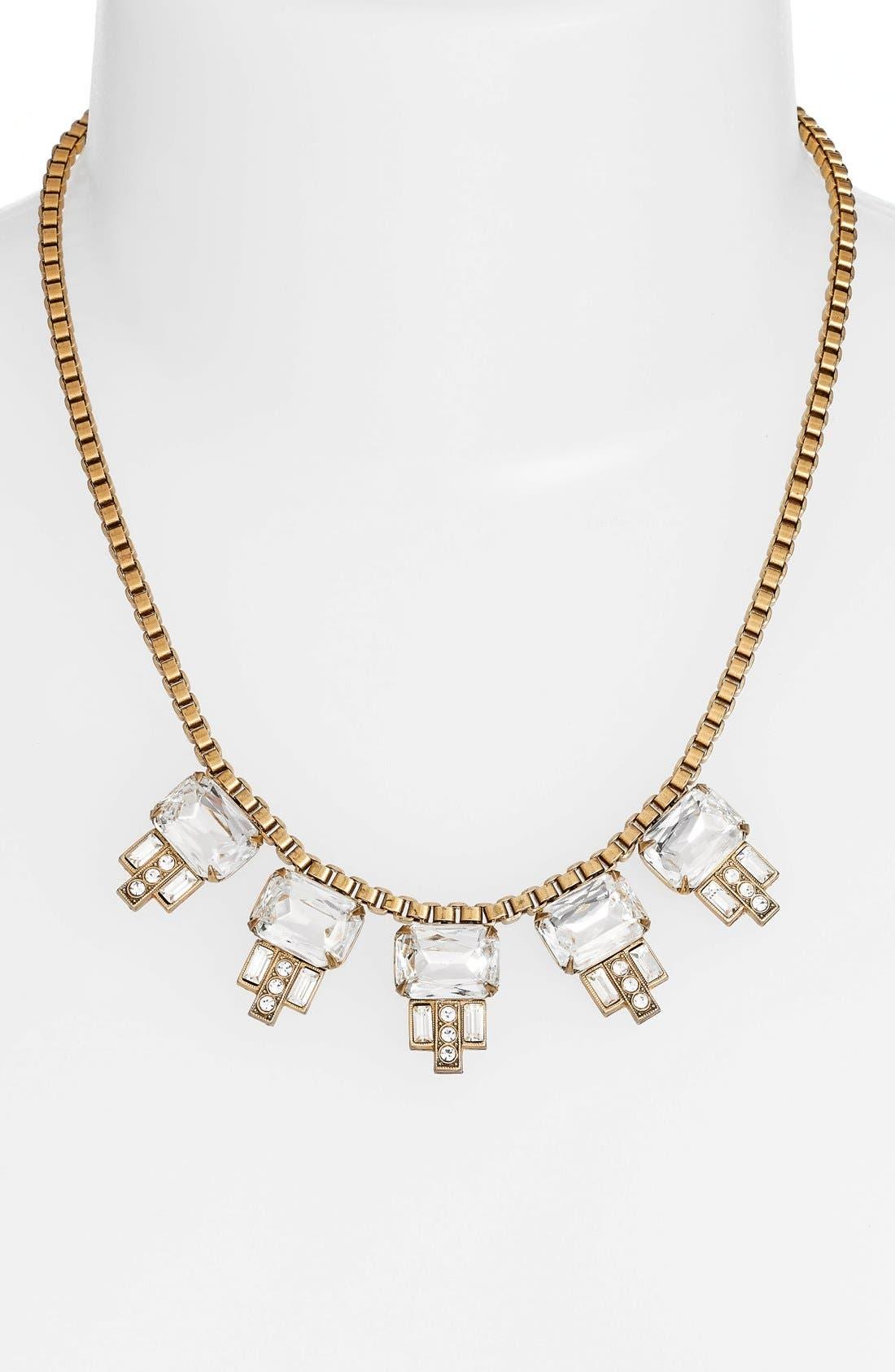 LOREN HOPE, 'Alex' Collar Necklace, Alternate thumbnail 2, color, 040