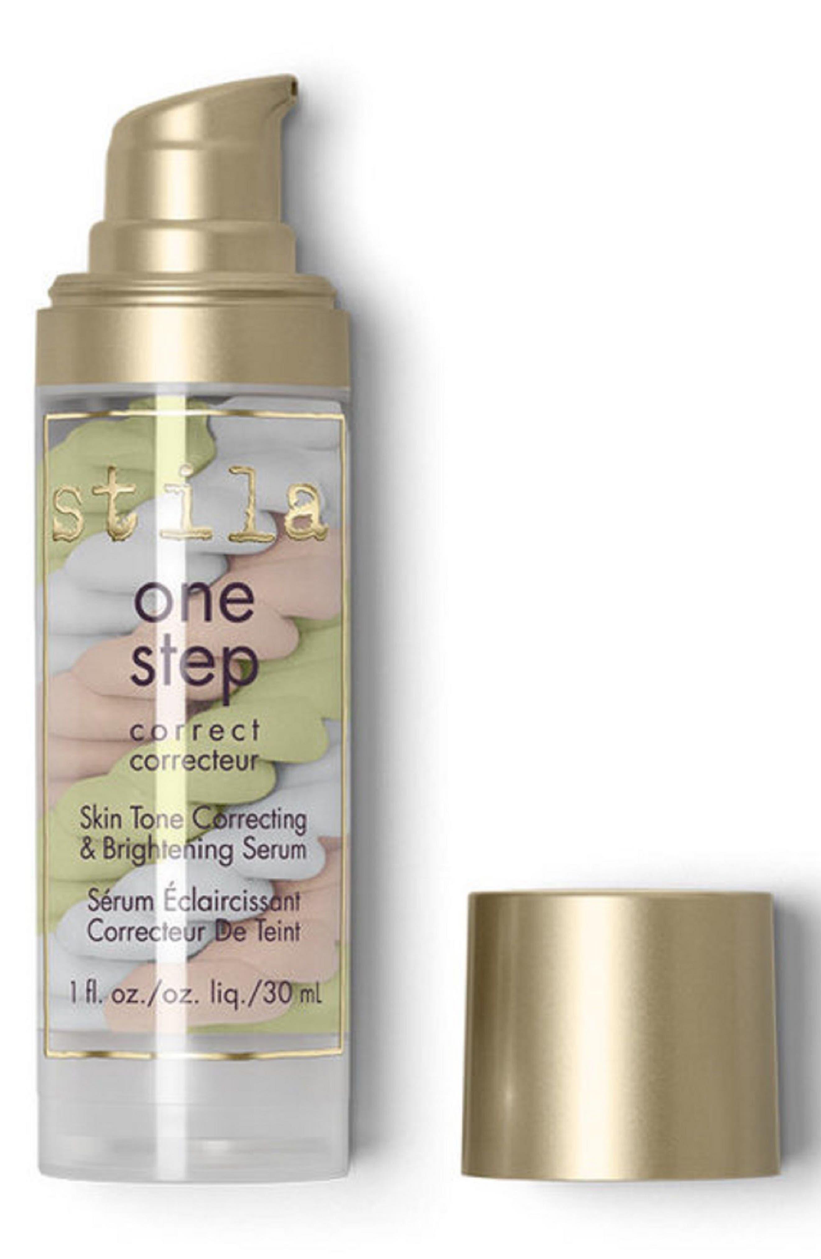 STILA, One Step Correct Skin Tone Correcting Brightening Serum, Alternate thumbnail 2, color, NO COLOR