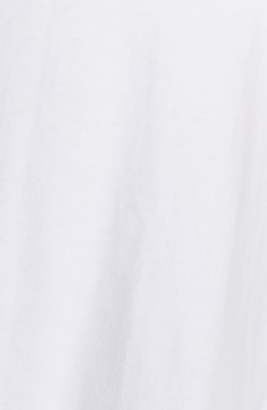 LAUREN RALPH LAUREN, Shawl Collar Robe, Alternate thumbnail 4, color, WHITE
