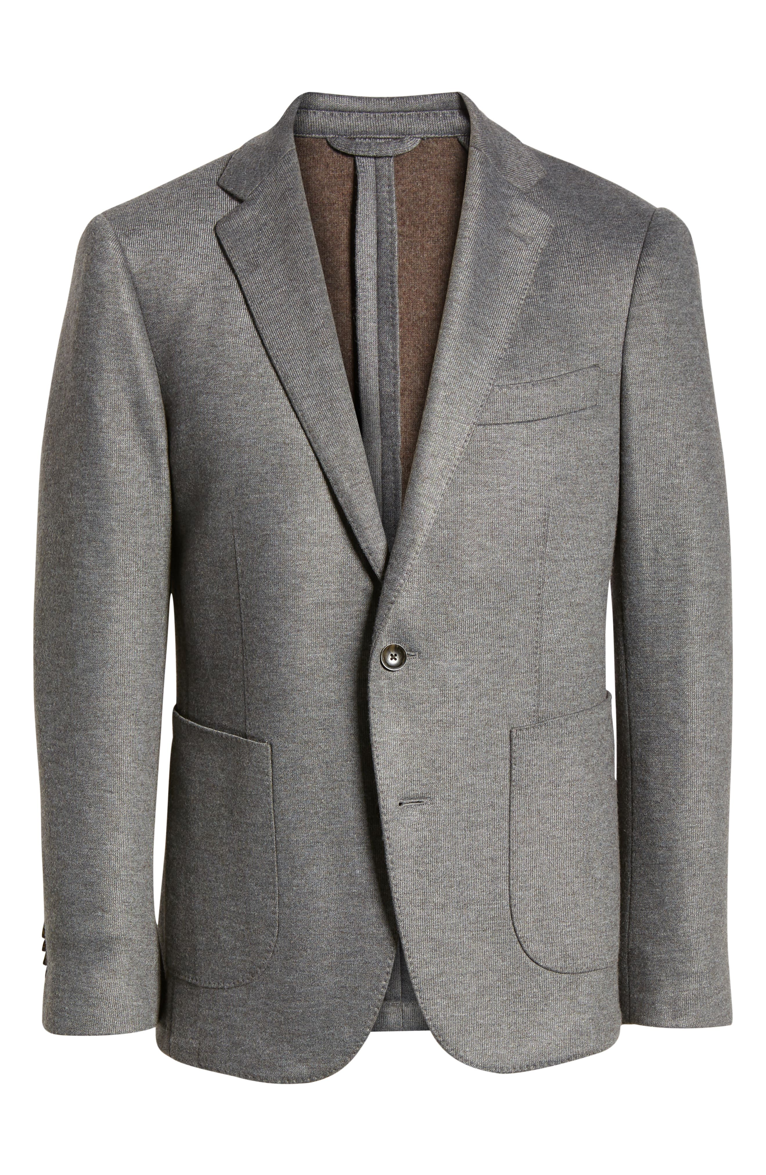 RODD & GUNN, Brooklynn Sport Coat, Alternate thumbnail 5, color, ASH