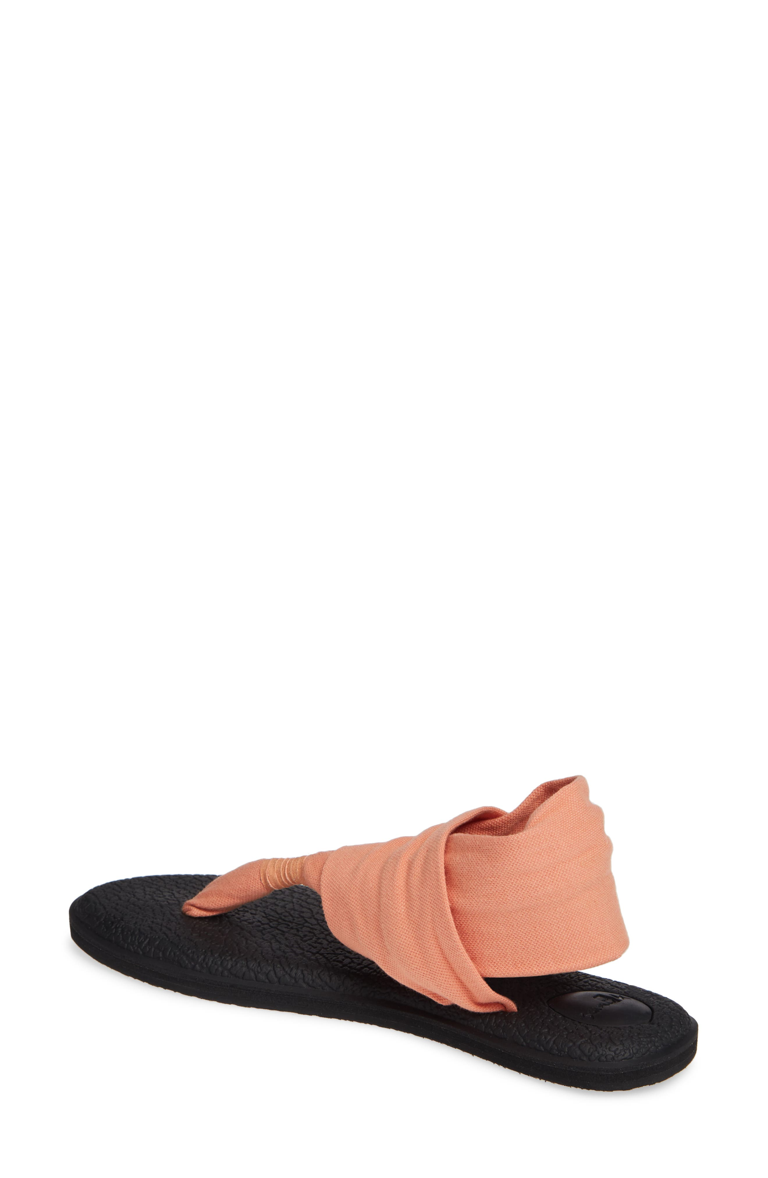 SANUK, 'Yoga Sling 2' Sandal, Alternate thumbnail 2, color, CARNELIAN