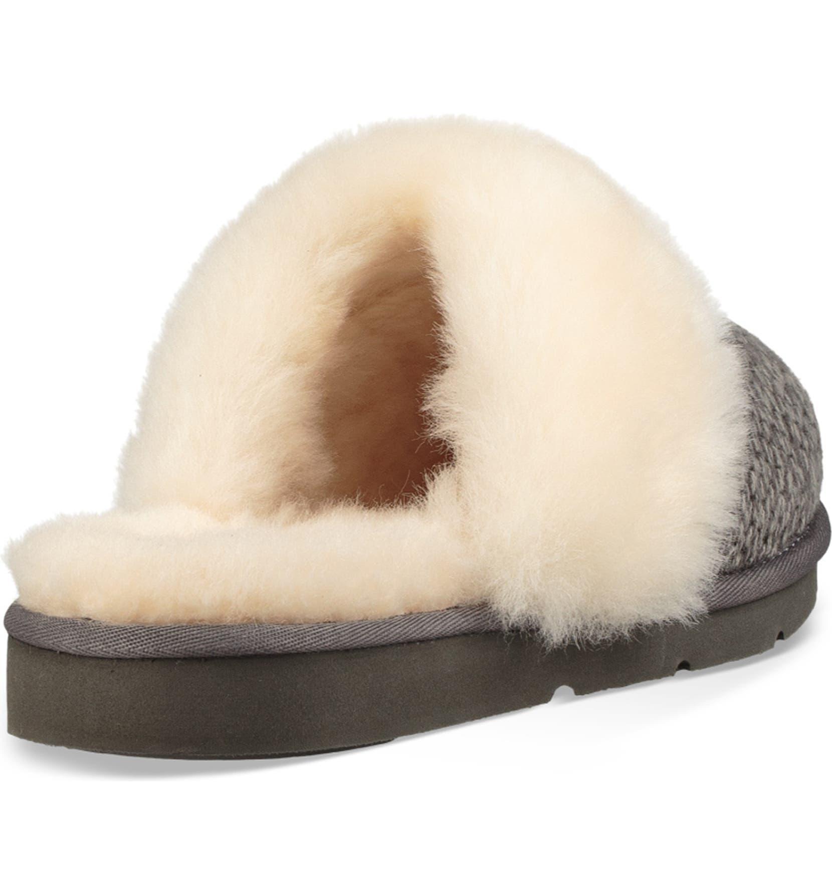 14aa326eab6 UGG® Cozy Knit Genuine Shearling Slipper (Women)