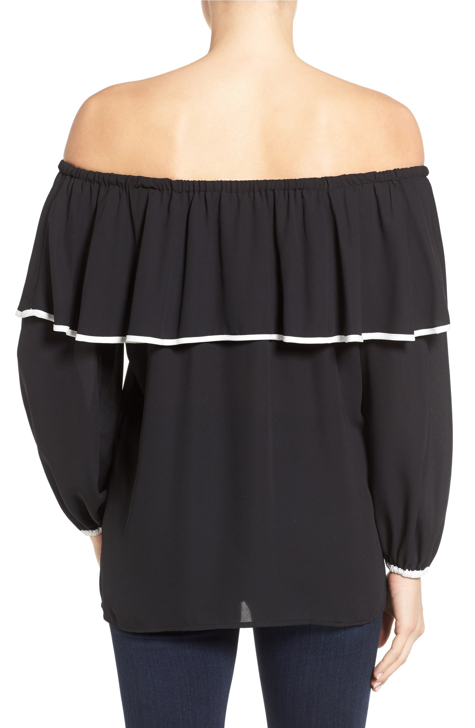 76dd97026a6339 Vince Camuto Ruffle Off the Shoulder Blouse | Nordstrom