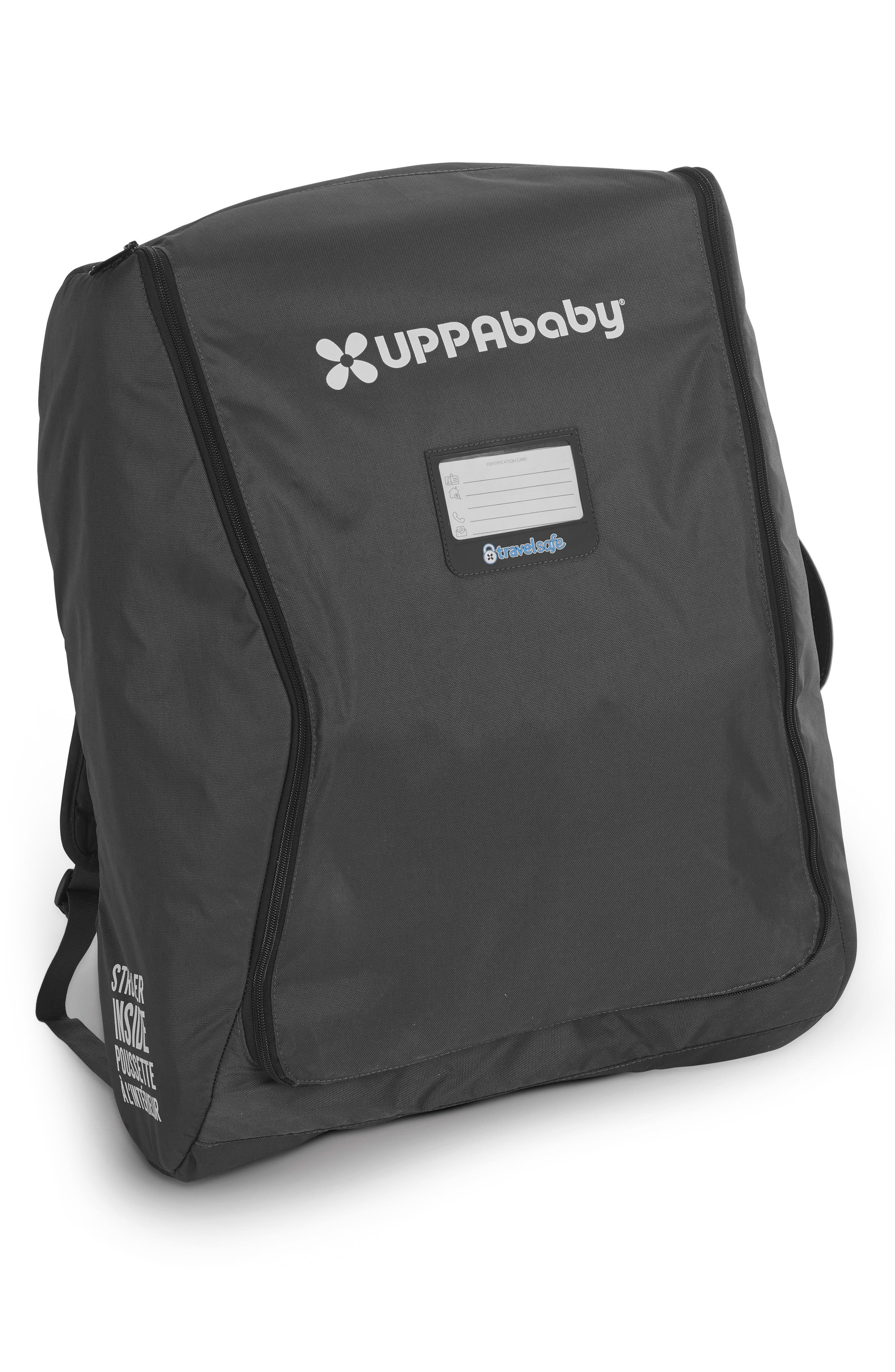 UPPABABY, TravelSafe Travel Bag for UPPAbaby Minu Stroller, Main thumbnail 1, color, BLACK