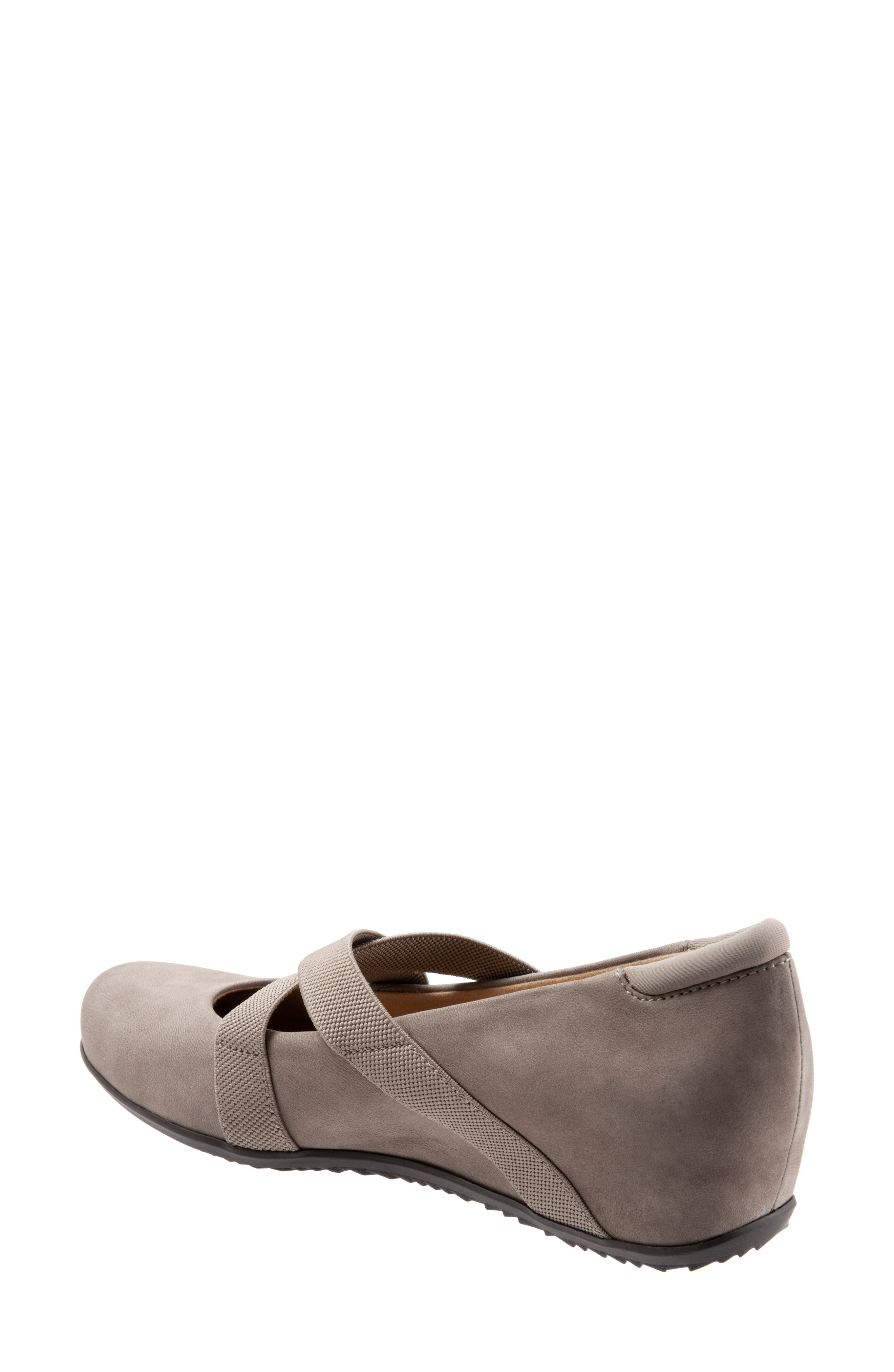 SOFTWALK<SUP>®</SUP>, Waverly Mary Jane Wedge, Alternate thumbnail 2, color, TAUPE LEATHER