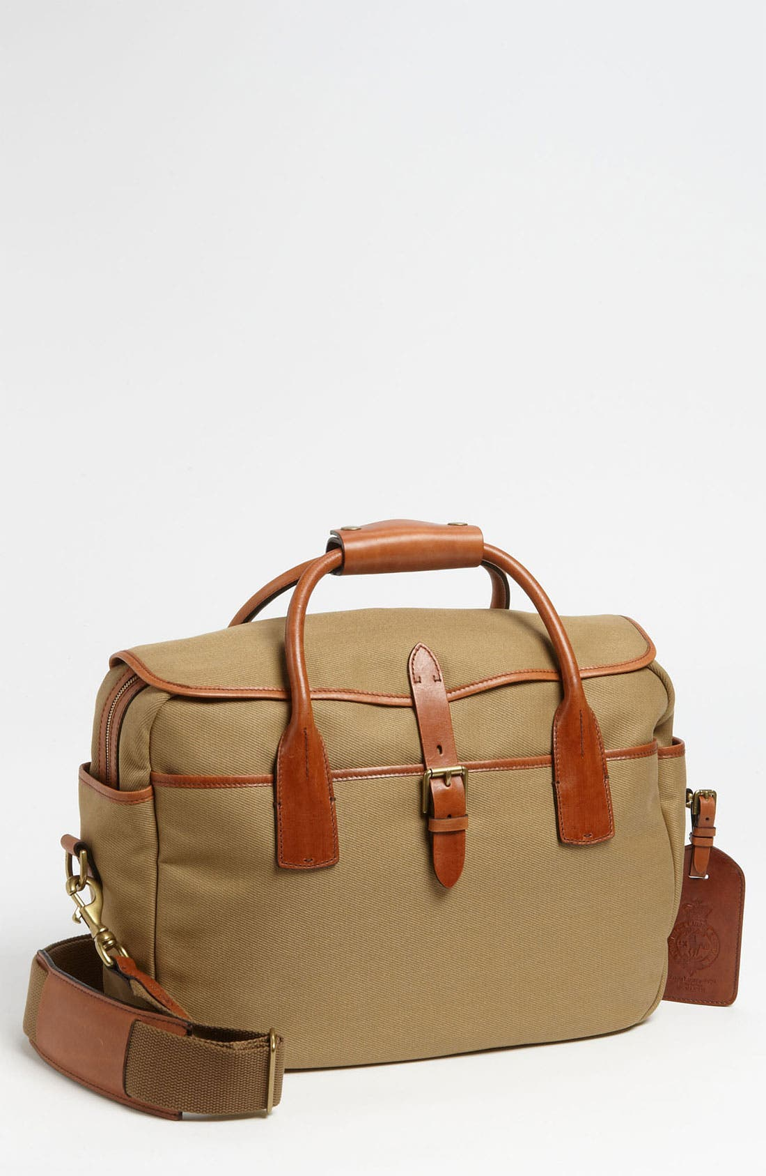 POLO RALPH LAUREN Canvas Commuter Bag, Main, color, 270