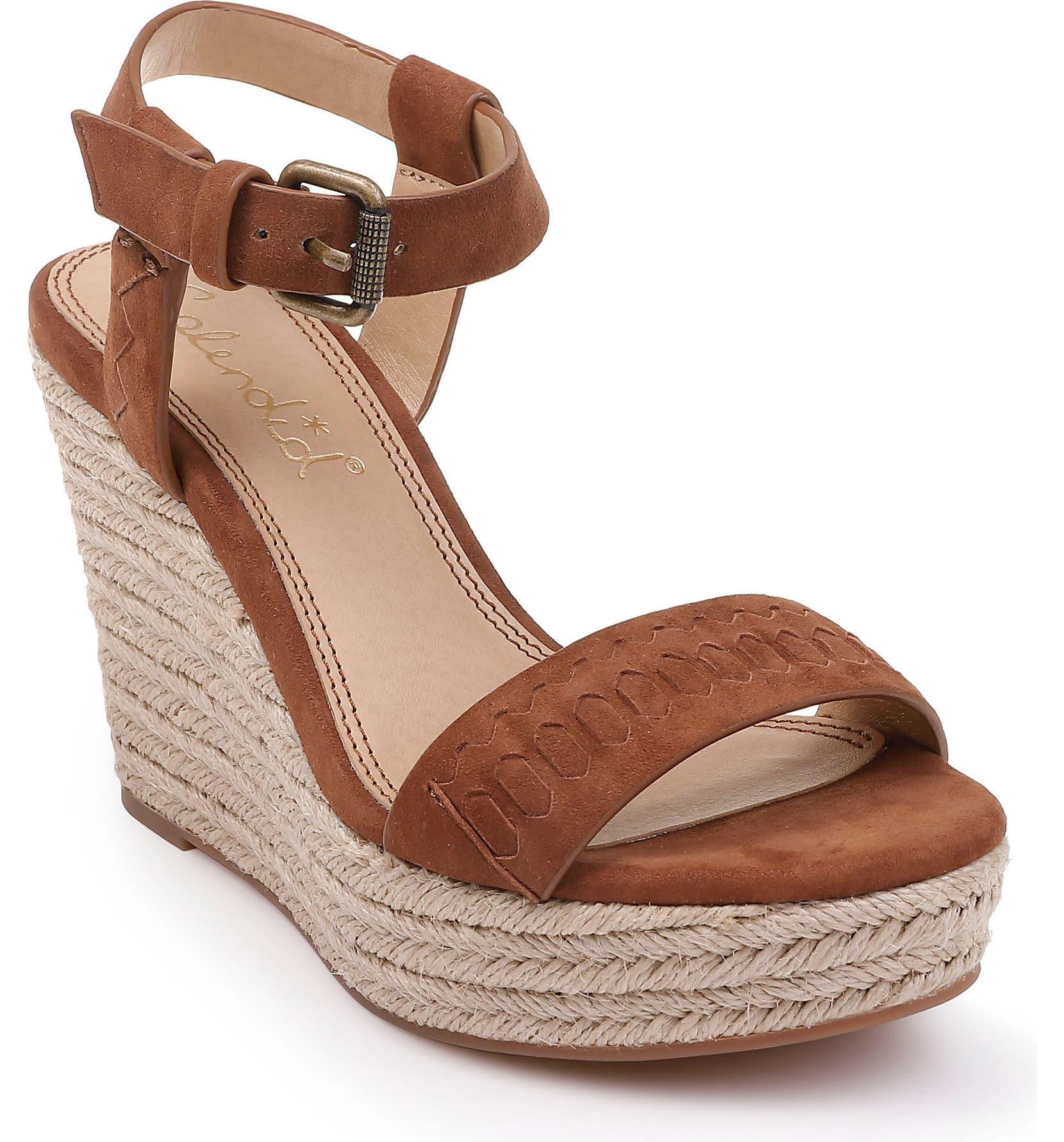 7f2fb21f2bb Splendid Shayla Woven Wedge Sandal (Women)