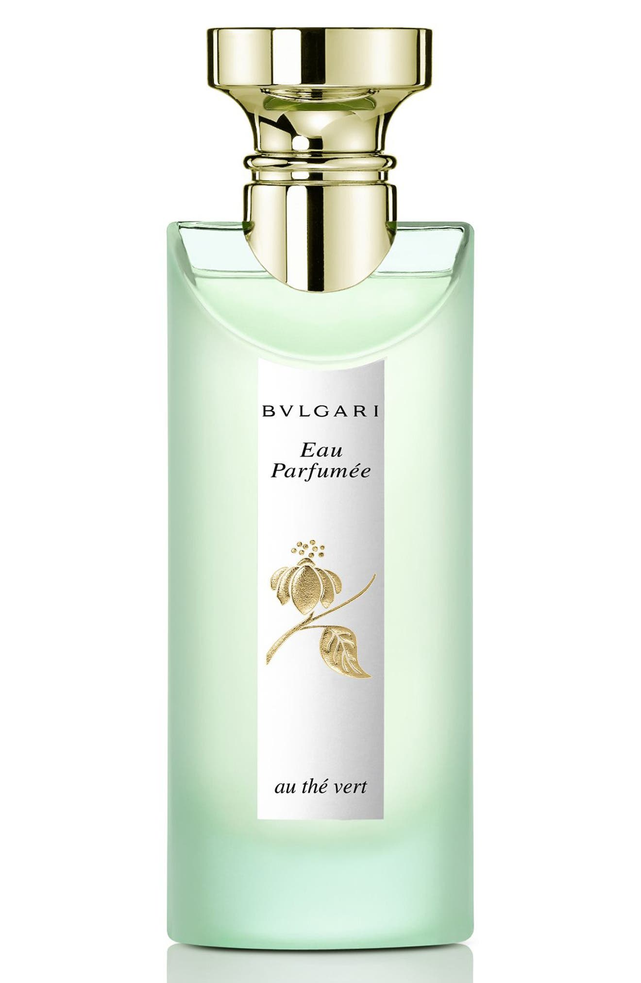 BVLGARI, 'Eau Parfumée au thé vert' Eau de Cologne Spray, Main thumbnail 1, color, NO COLOR
