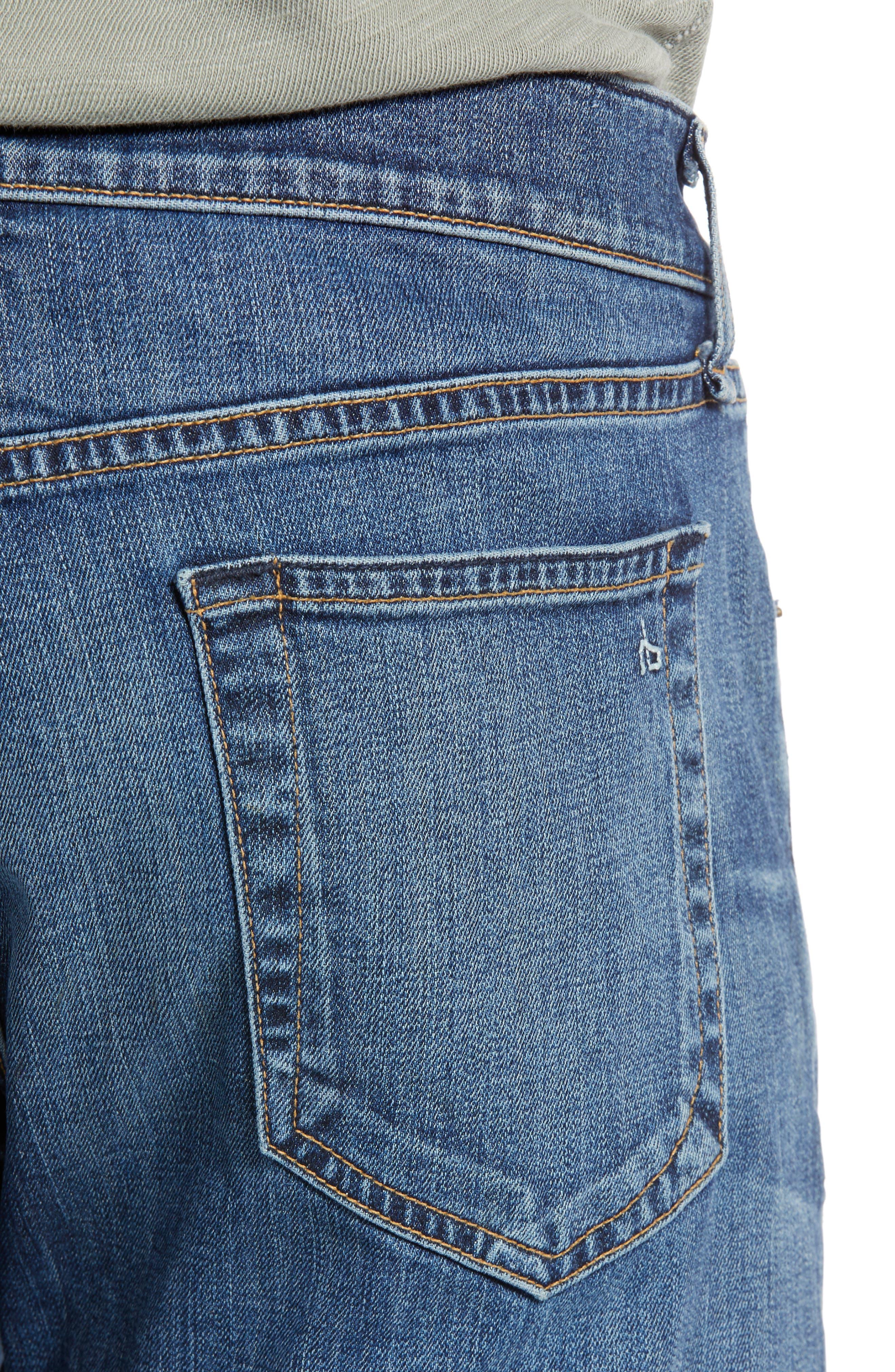 RAG & BONE, Fit 2 Slim Fit Jeans, Alternate thumbnail 5, color, THROOP