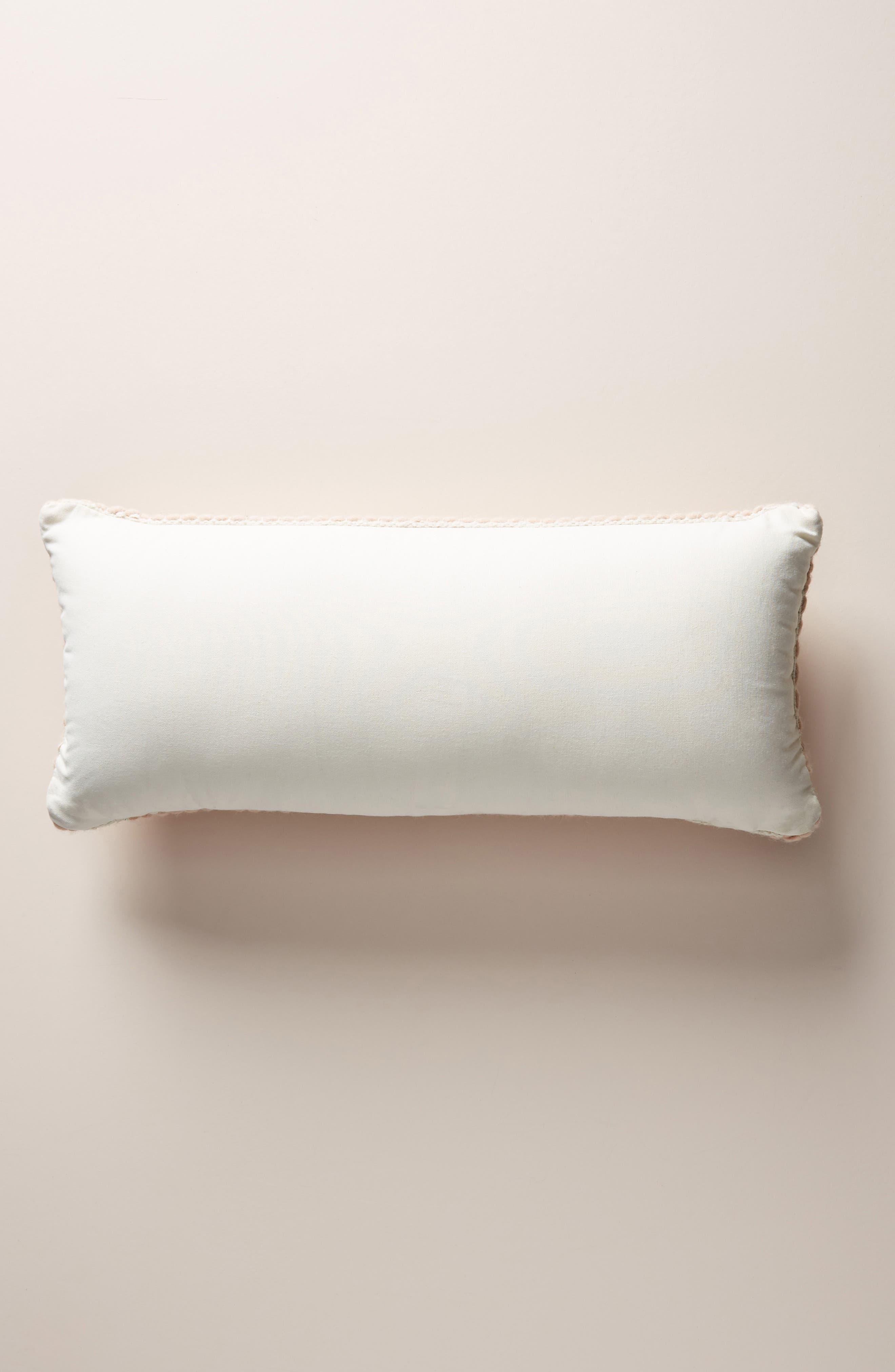 ANTHROPOLOGIE, Evie Bauble Accent Pillow, Alternate thumbnail 2, color, BLUSH