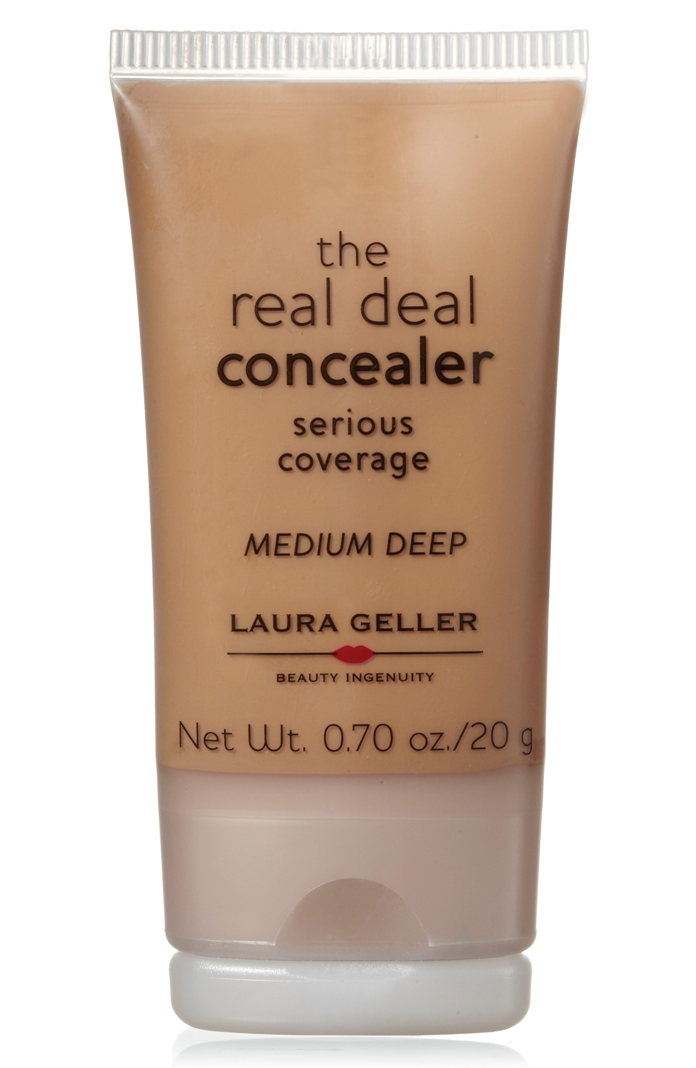 LAURA GELLER BEAUTY, Real Deal Concealer, Alternate thumbnail 2, color, 200