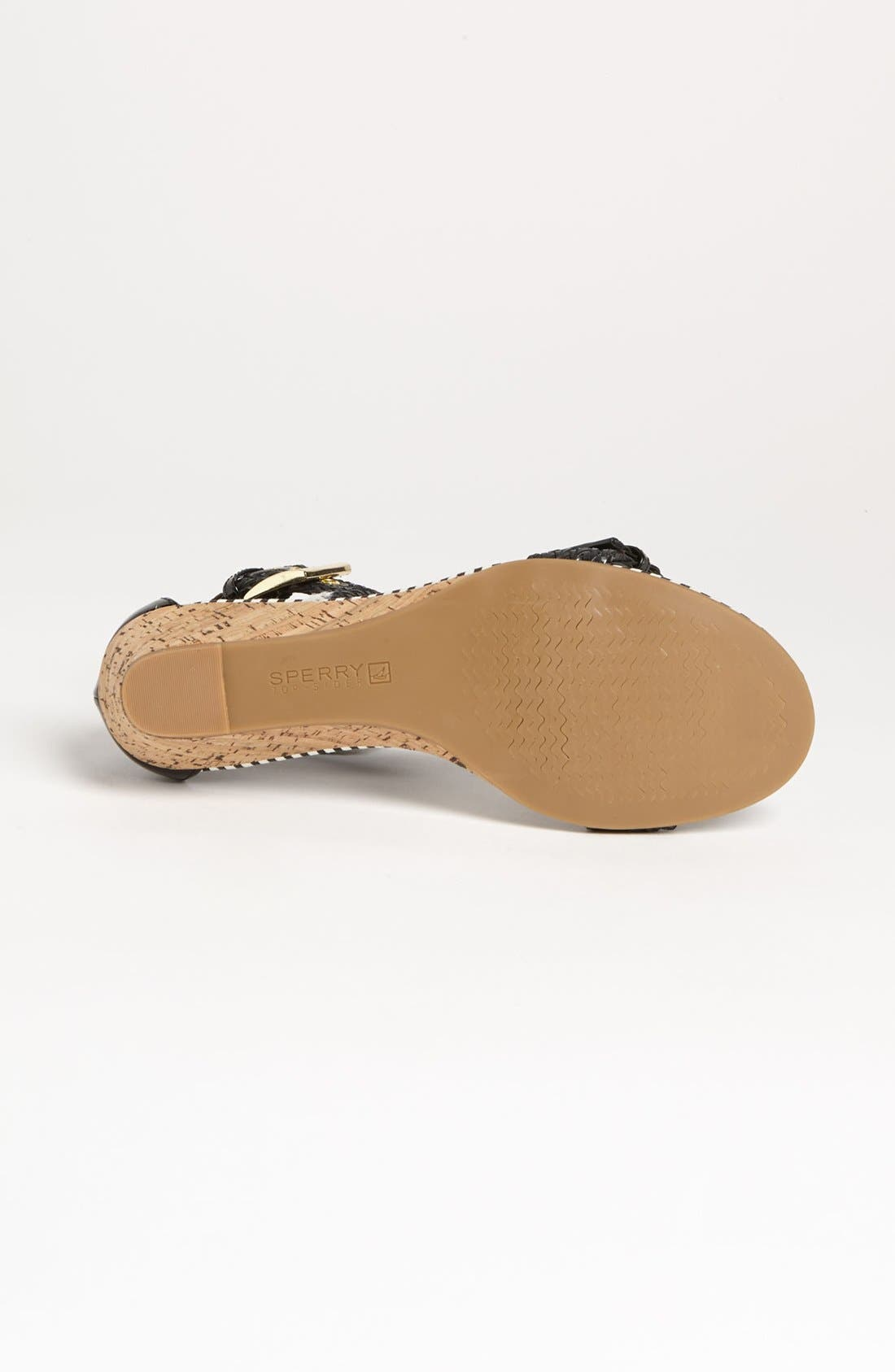 SPERRY, Top-Sider<sup>®</sup> 'Lynbrook' Sandal, Alternate thumbnail 4, color, 001
