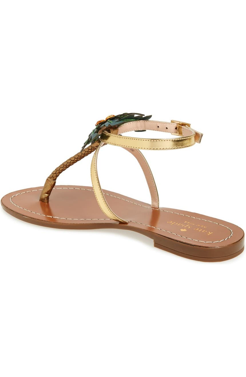 ded04467ce17 kate spade new york  solana  palm tree sandal (Women)