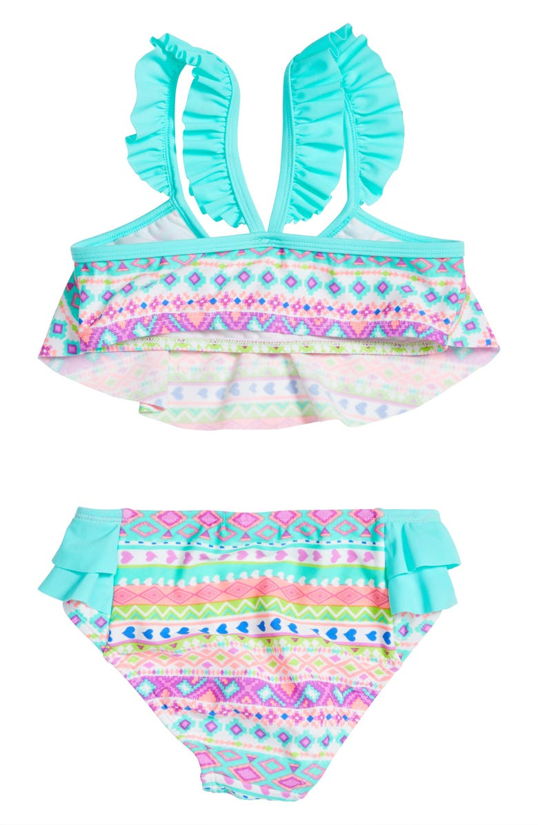 f1530bb4722 Hula Star Hippie Hearts Two-Piece Swimsuit (Toddler Girls & Little ...
